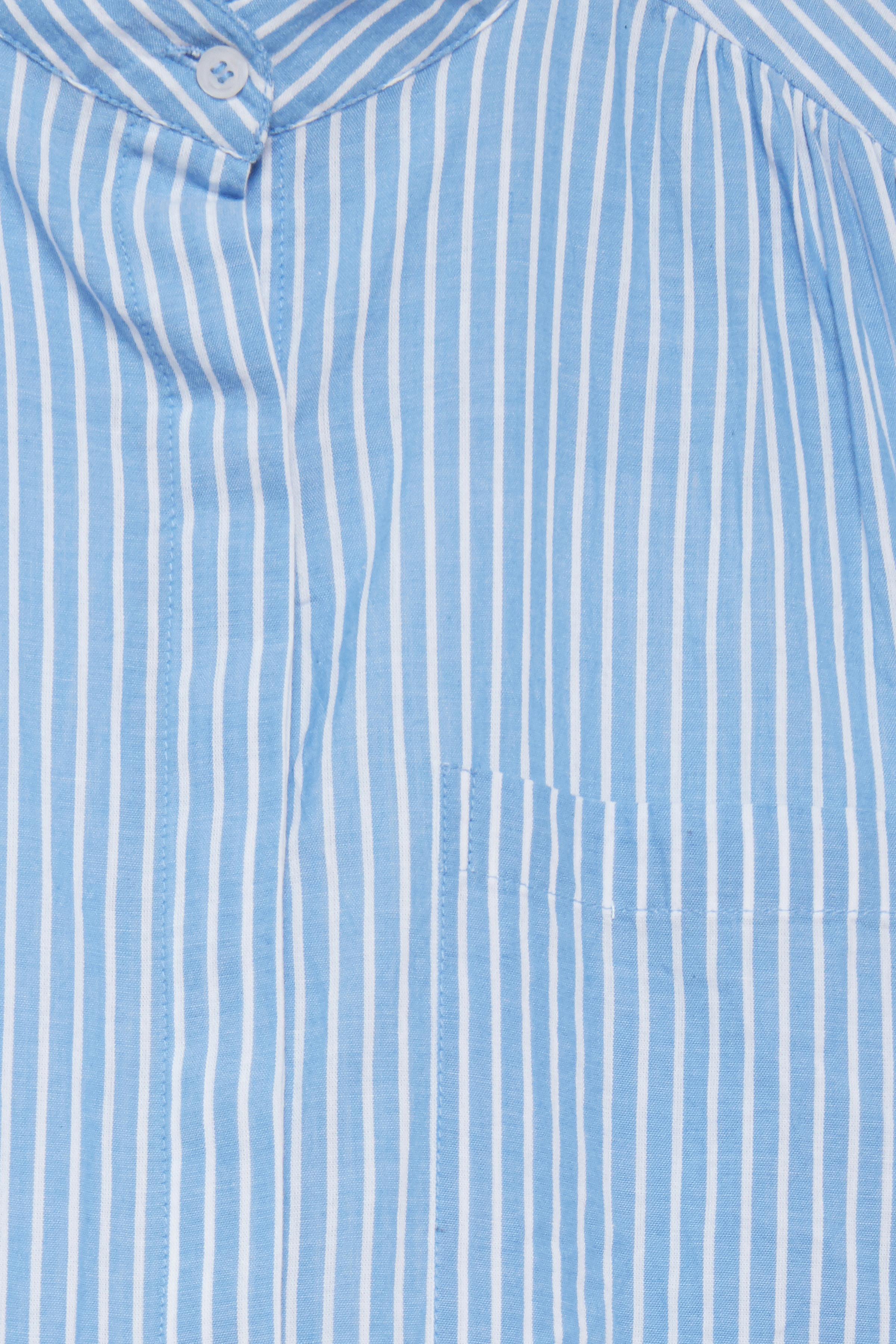 Azure Blue Langærmet skjorte – Køb Azure Blue Langærmet skjorte fra str. 34-42 her