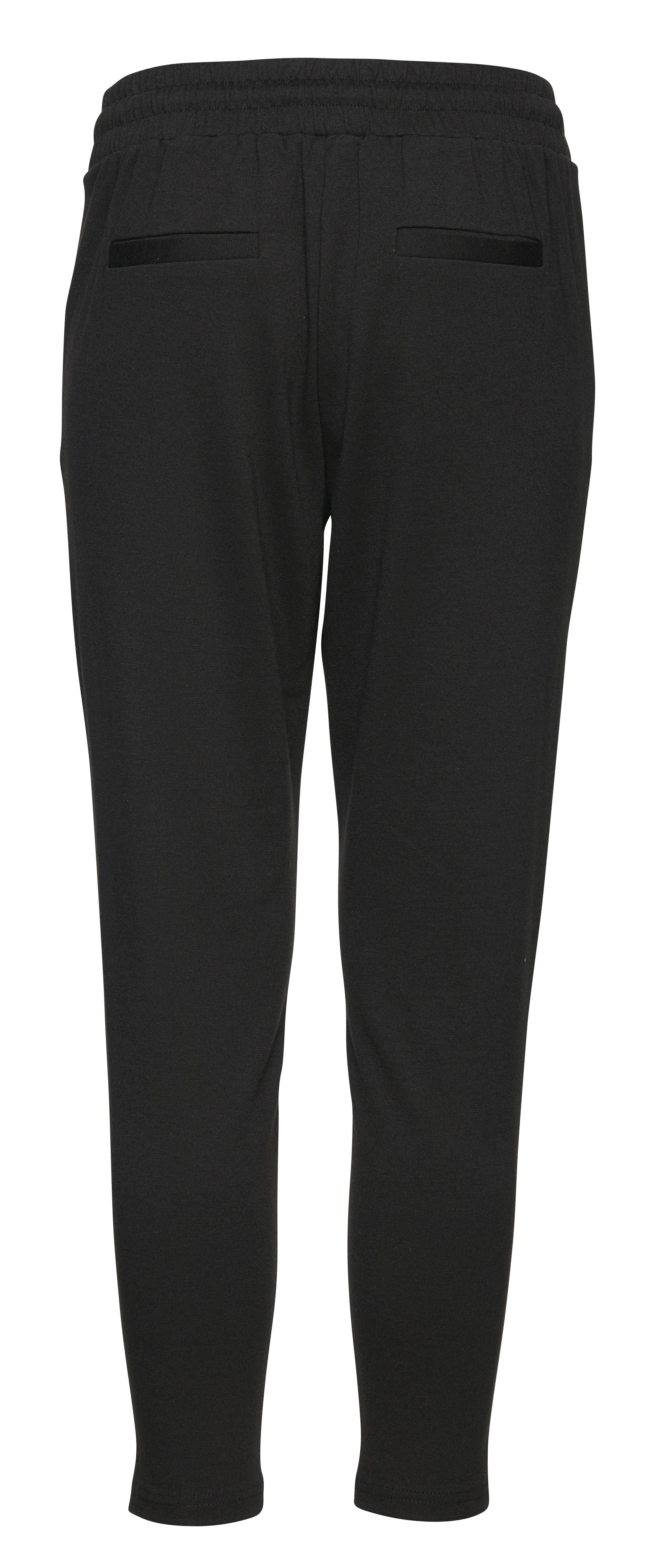 Black Bukser i blød jersey - cropped længde – Køb Black Bukser i blød jersey - cropped længde fra str. XS-XXL her