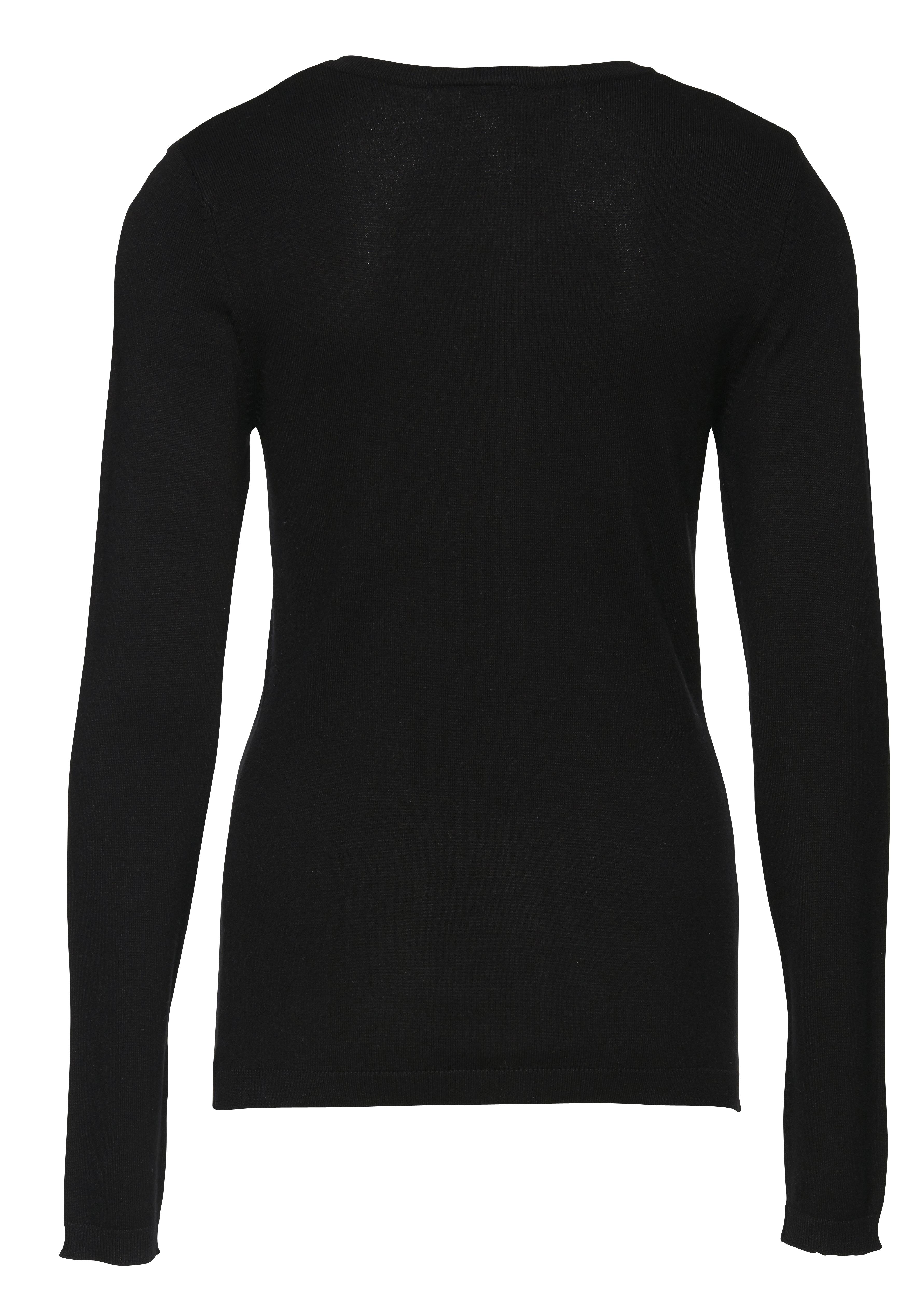 Black Knitted cardigan fra Ichi – Køb Black Knitted cardigan fra str. XS-XL her