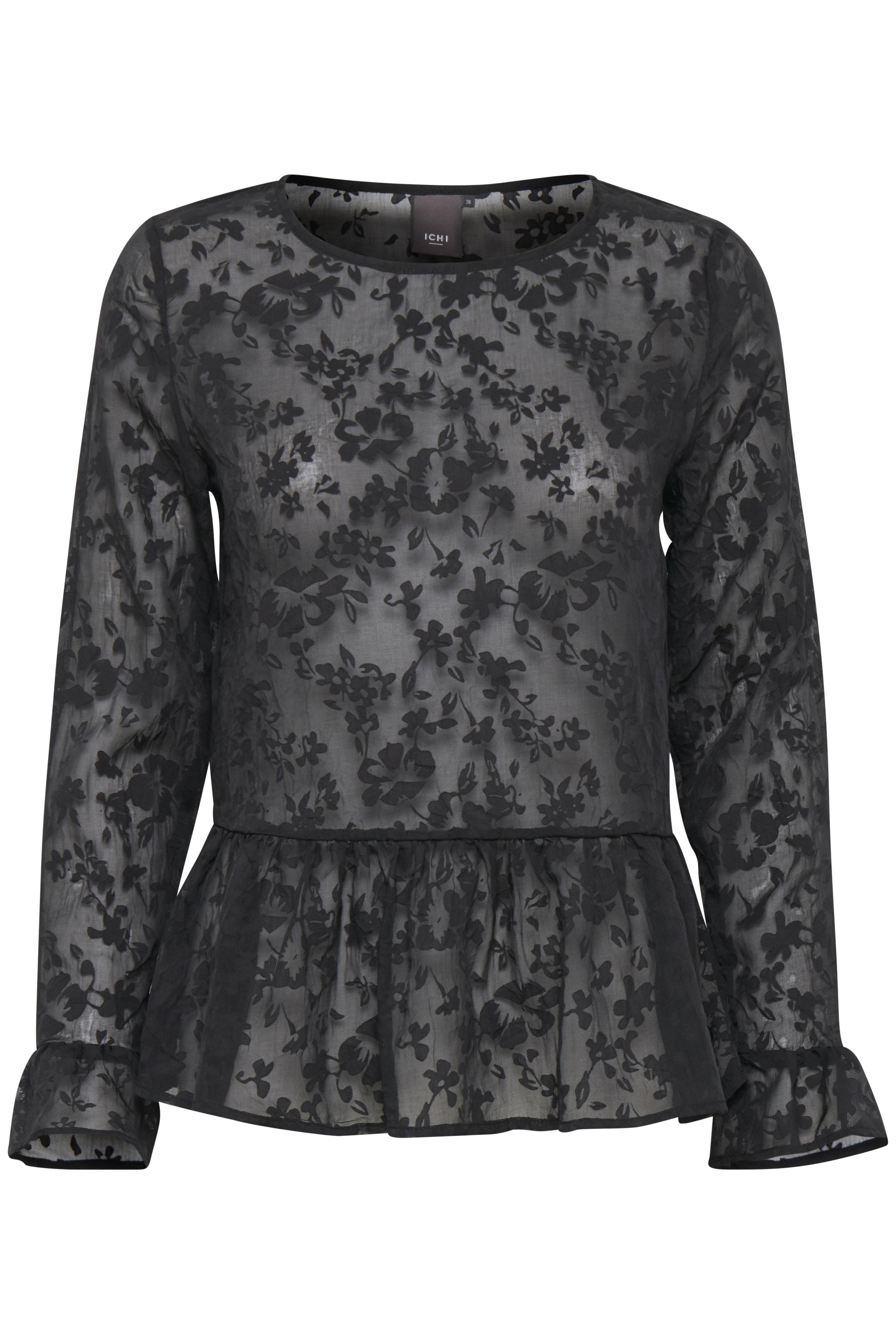 Black Kortærmet bluse – Køb Black Kortærmet bluse fra str. 34-40 her