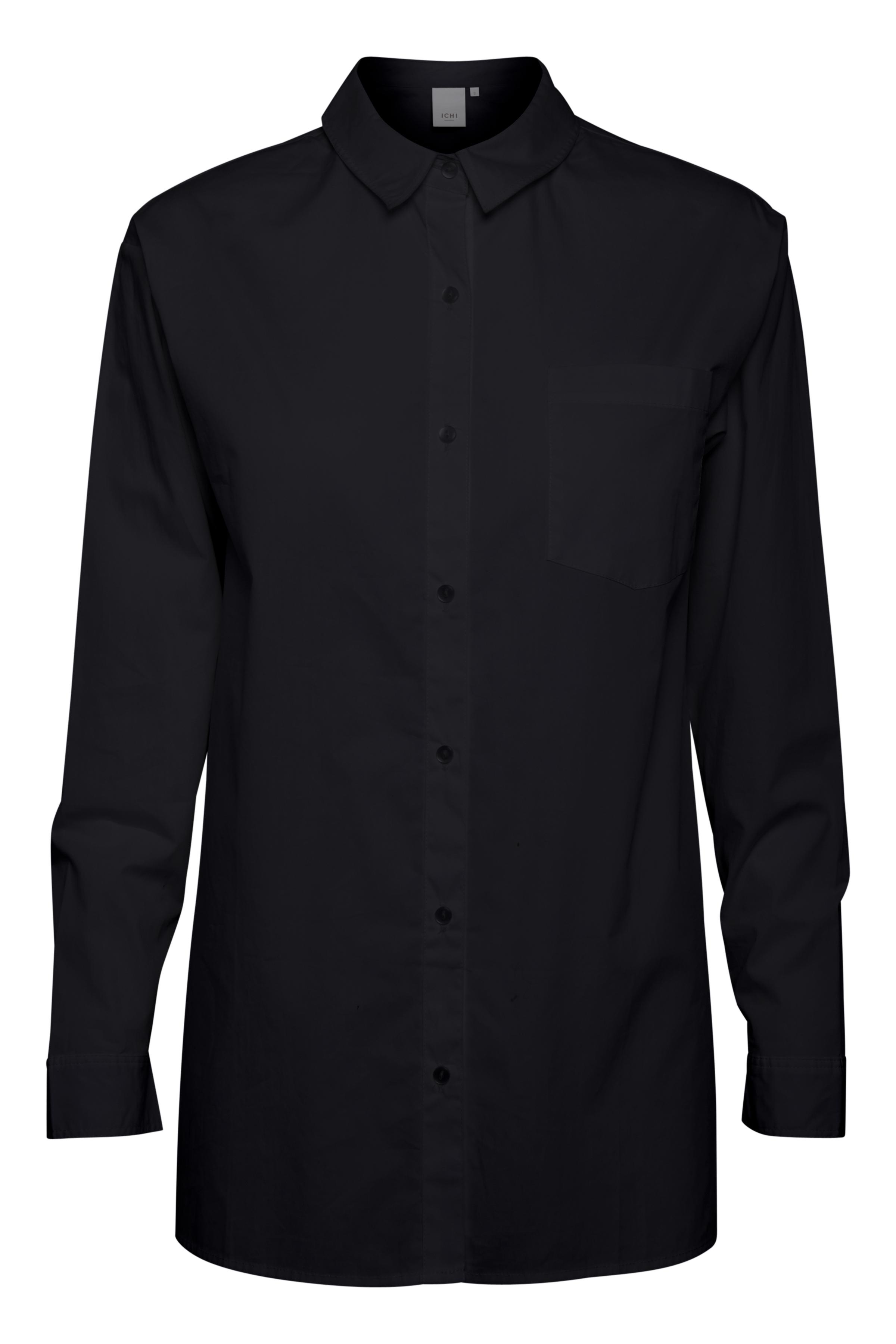 Black Langærmet skjorte – Køb Black Langærmet skjorte fra str. XS-XXL her