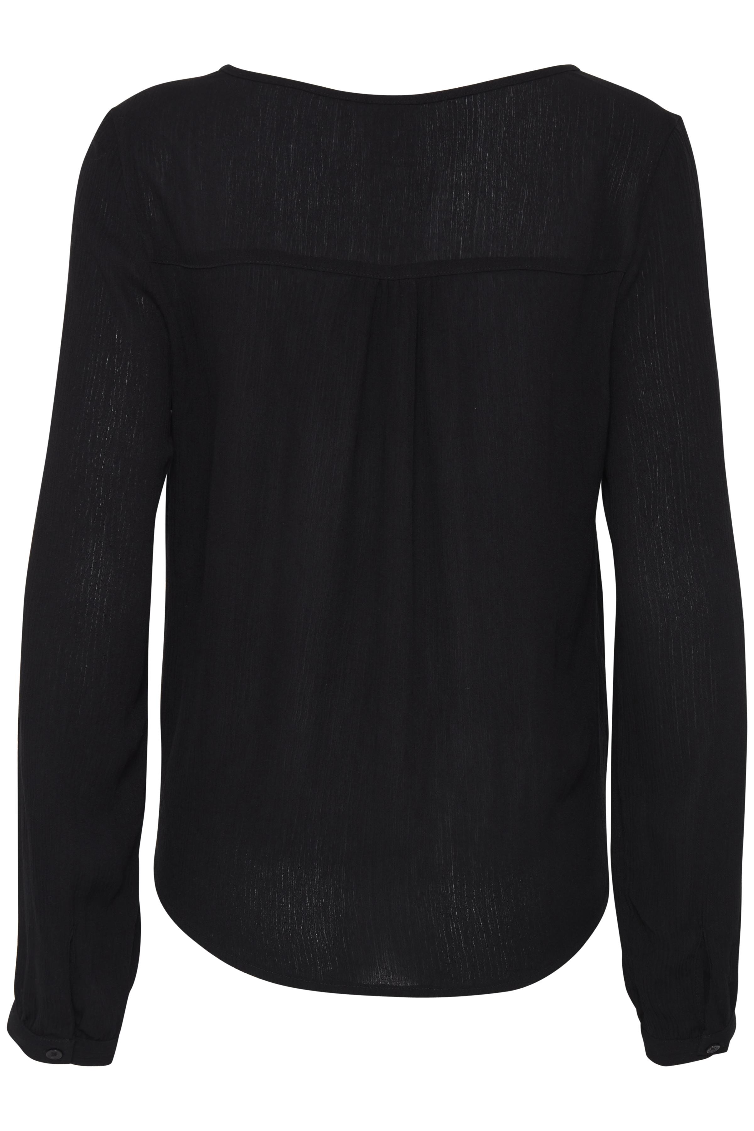 Black Long sleeved shirt fra Ichi – Køb Black Long sleeved shirt fra str. XS-XXL her