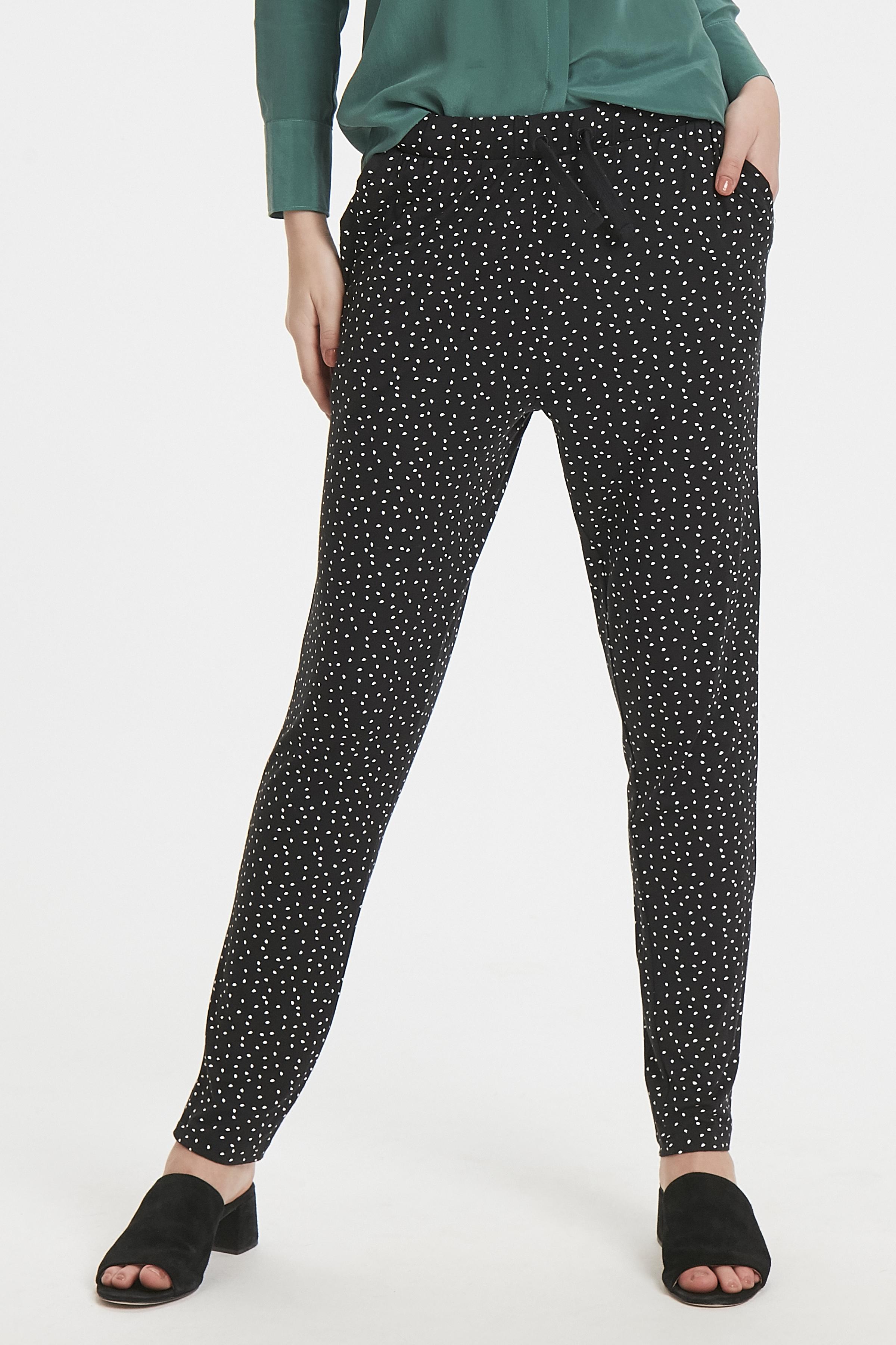 Black Printed Pants Casual – Køb Black Printed Pants Casual fra str. XS-XL her