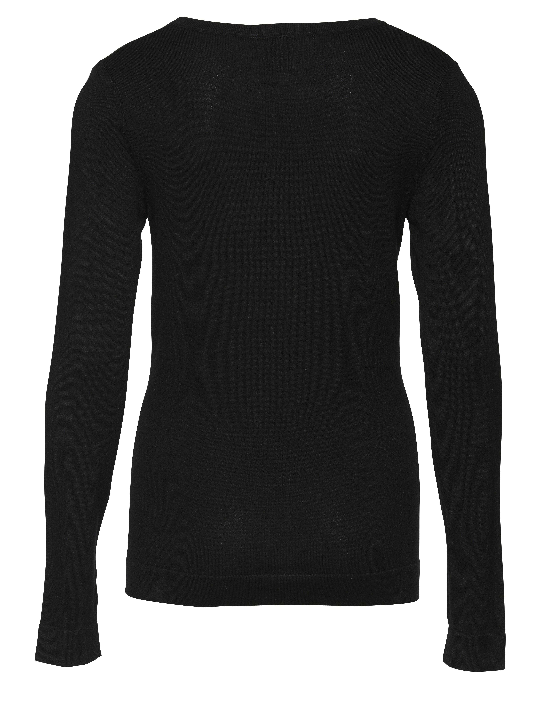 Black Strikcardigan – Køb Black Strikcardigan fra str. XS-XL her