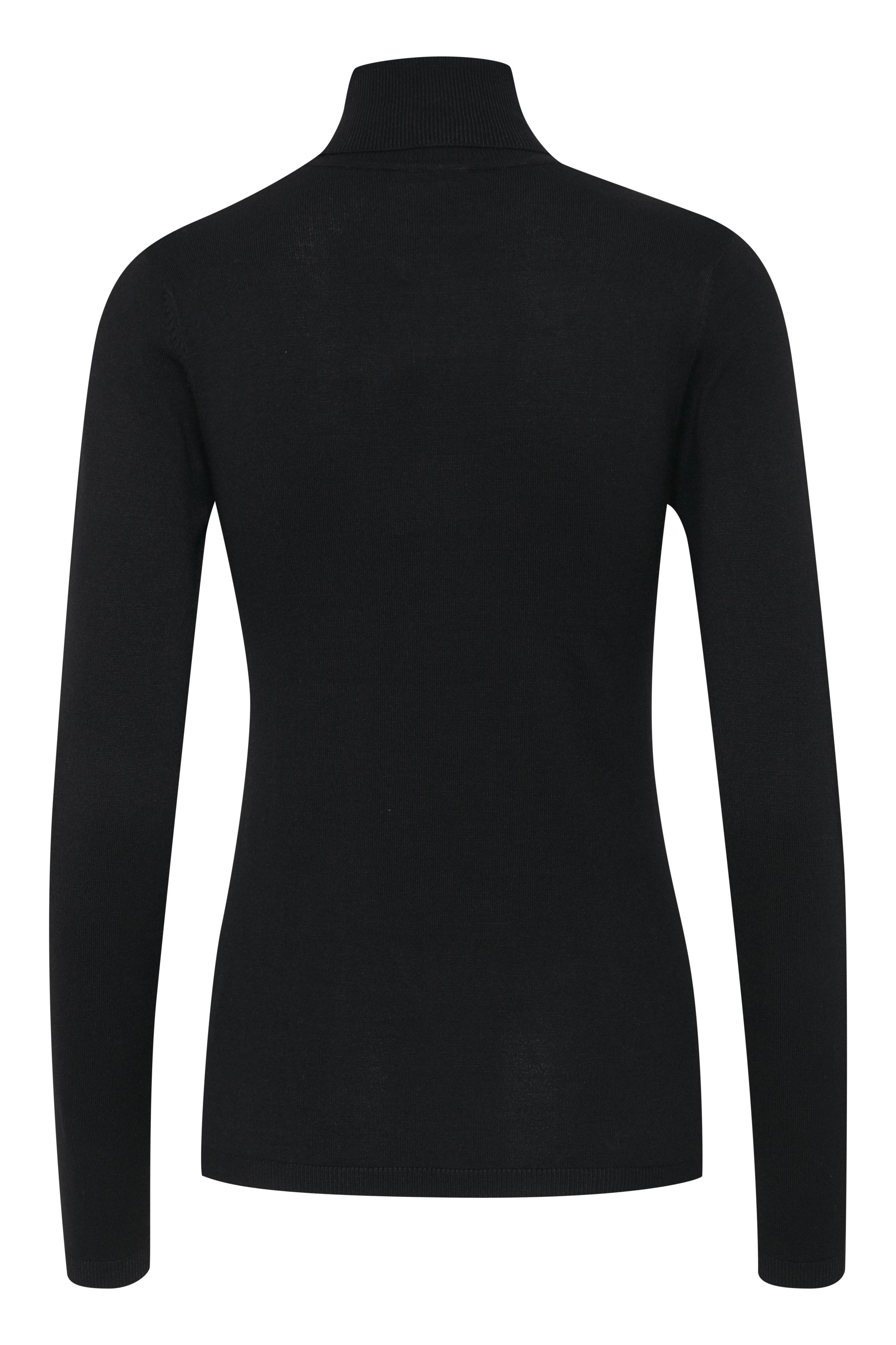 Black Strikpullover – Køb Black Strikpullover fra str. XS-XL her
