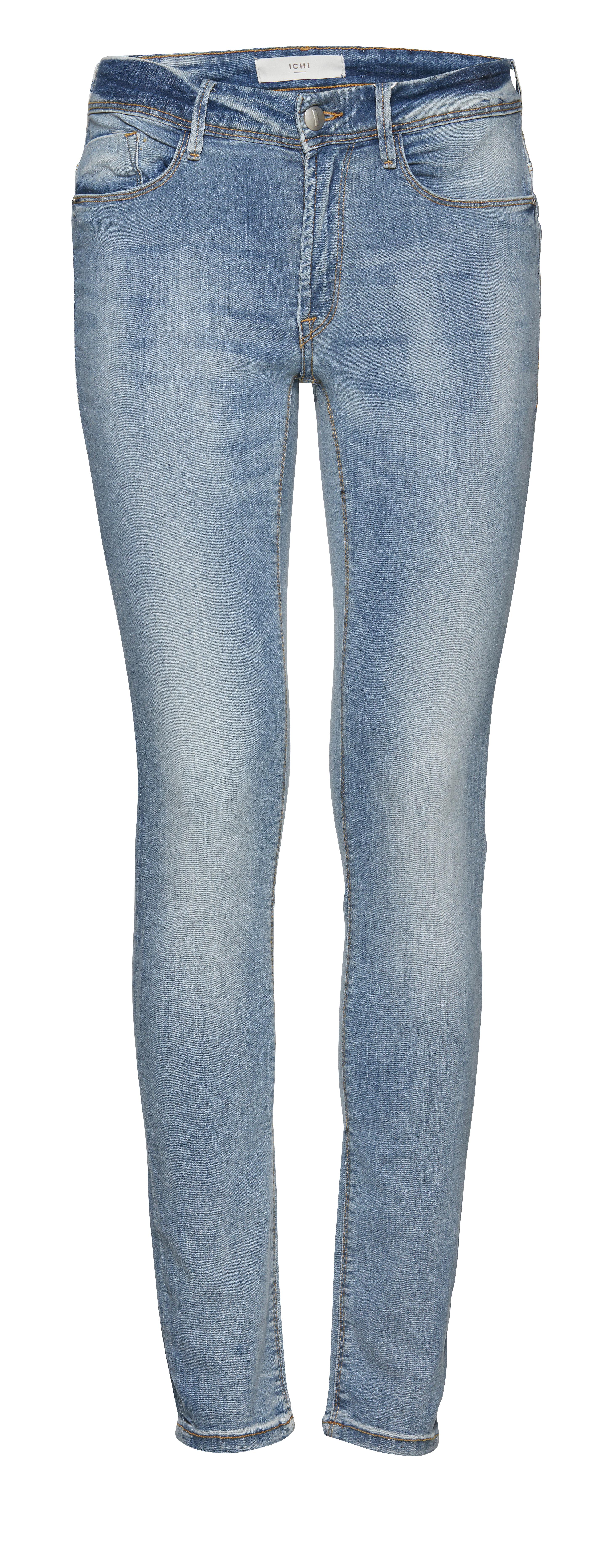 Bleached light blue Jeans – Køb Bleached light blue Jeans fra str. 25-34 her