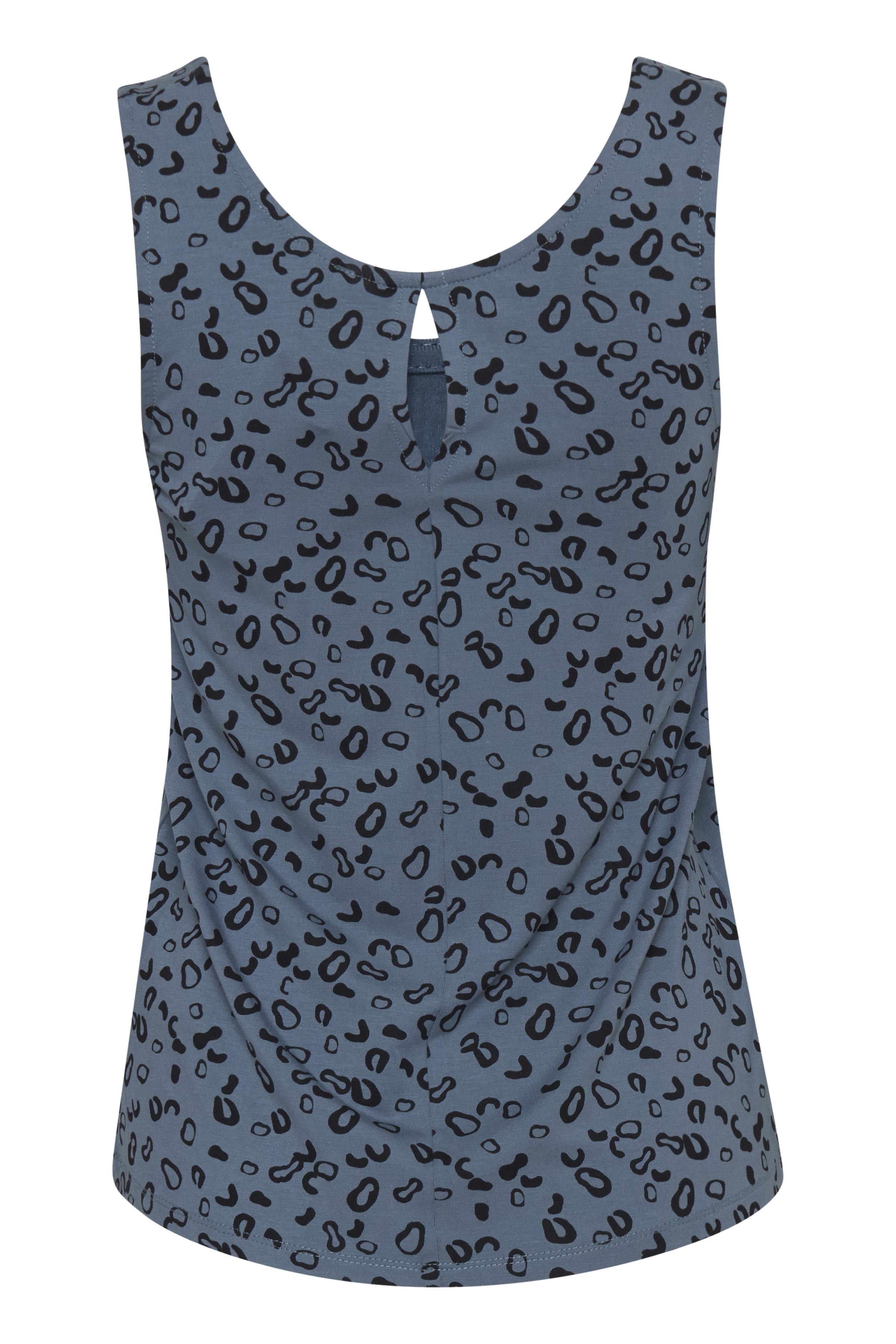 Blue Mirage Jersey top fra Ichi – Køb Blue Mirage Jersey top fra str. XS-XL her