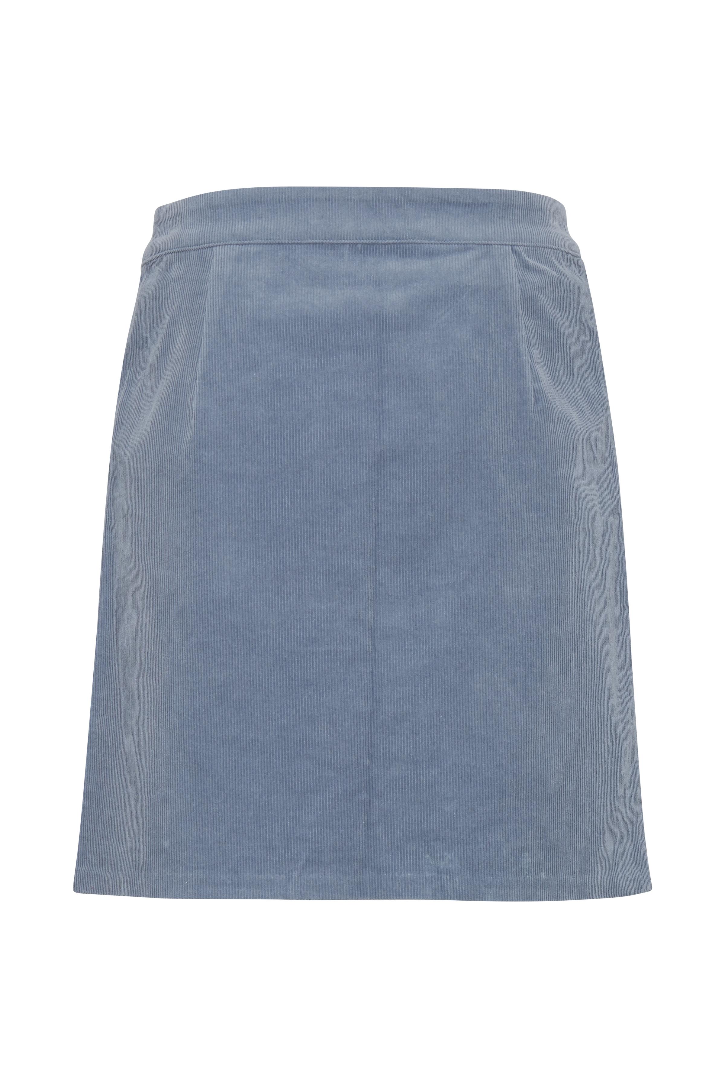 Blue Mirage Skirt fra Ichi – Køb Blue Mirage Skirt fra str. 34-42 her