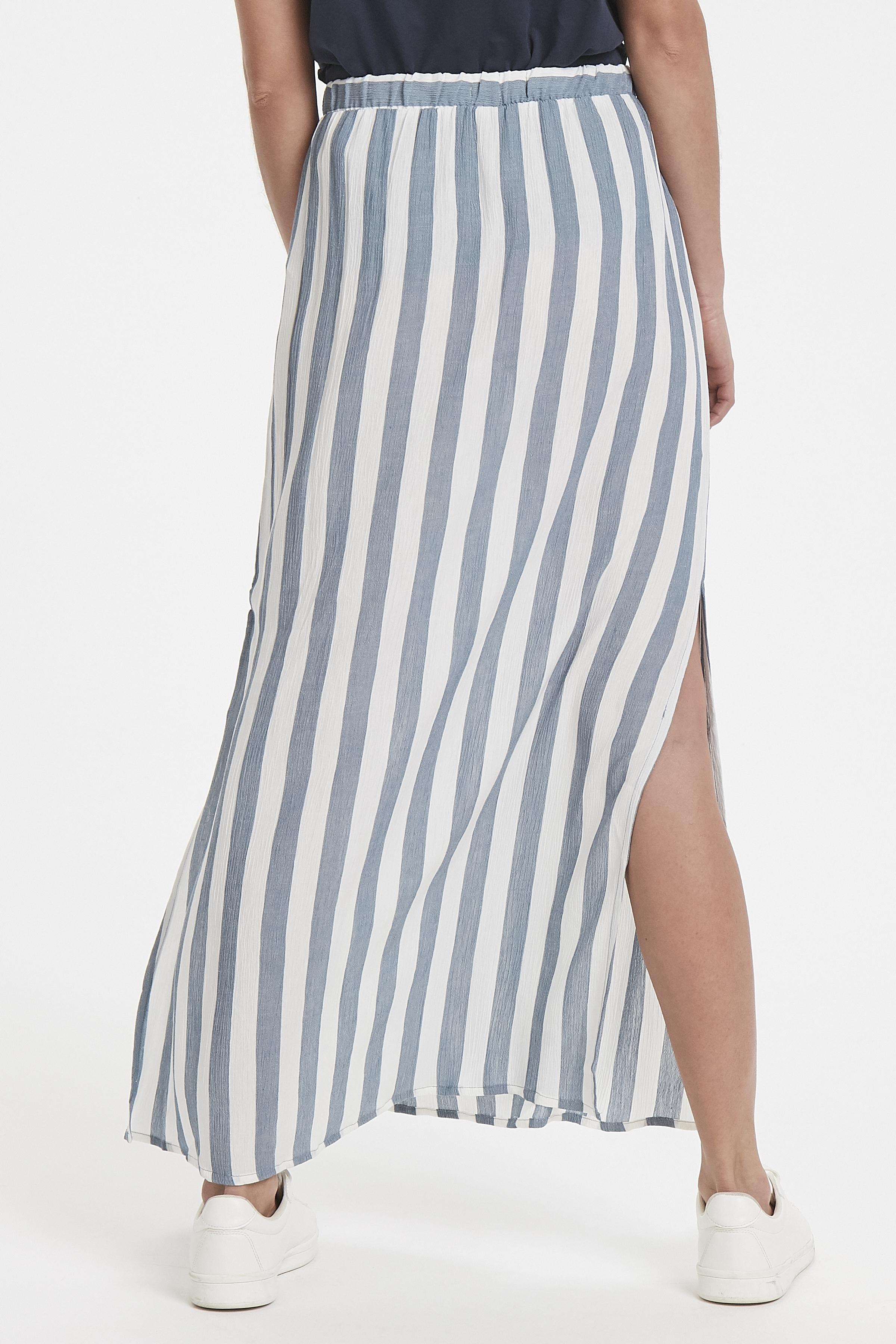 Blue Mirage Skirt fra Ichi – Køb Blue Mirage Skirt fra str. XS-XL her