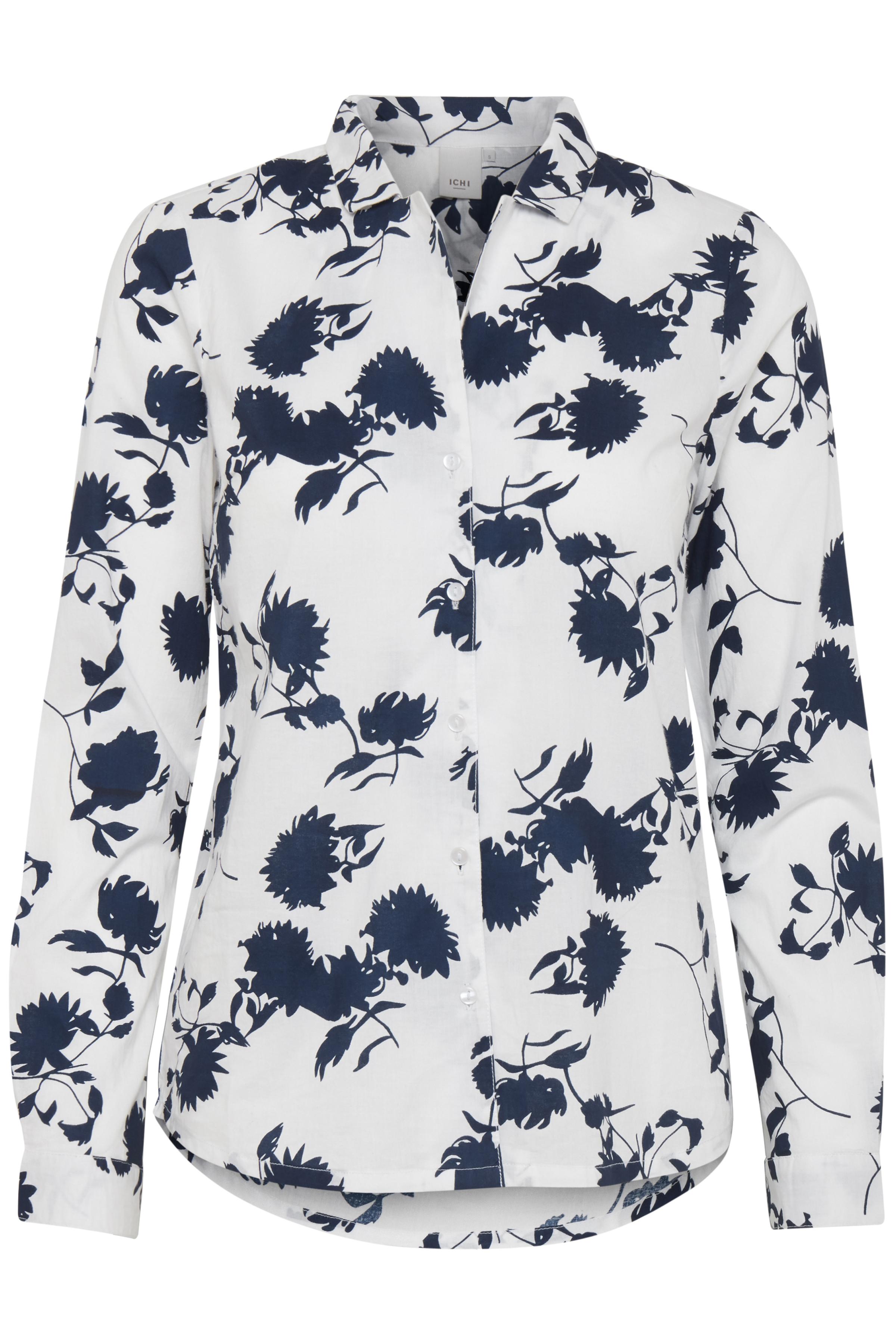 Cloud Dancer print Long sleeved shirt fra Ichi – Køb Cloud Dancer print Long sleeved shirt fra str. XS-XL her