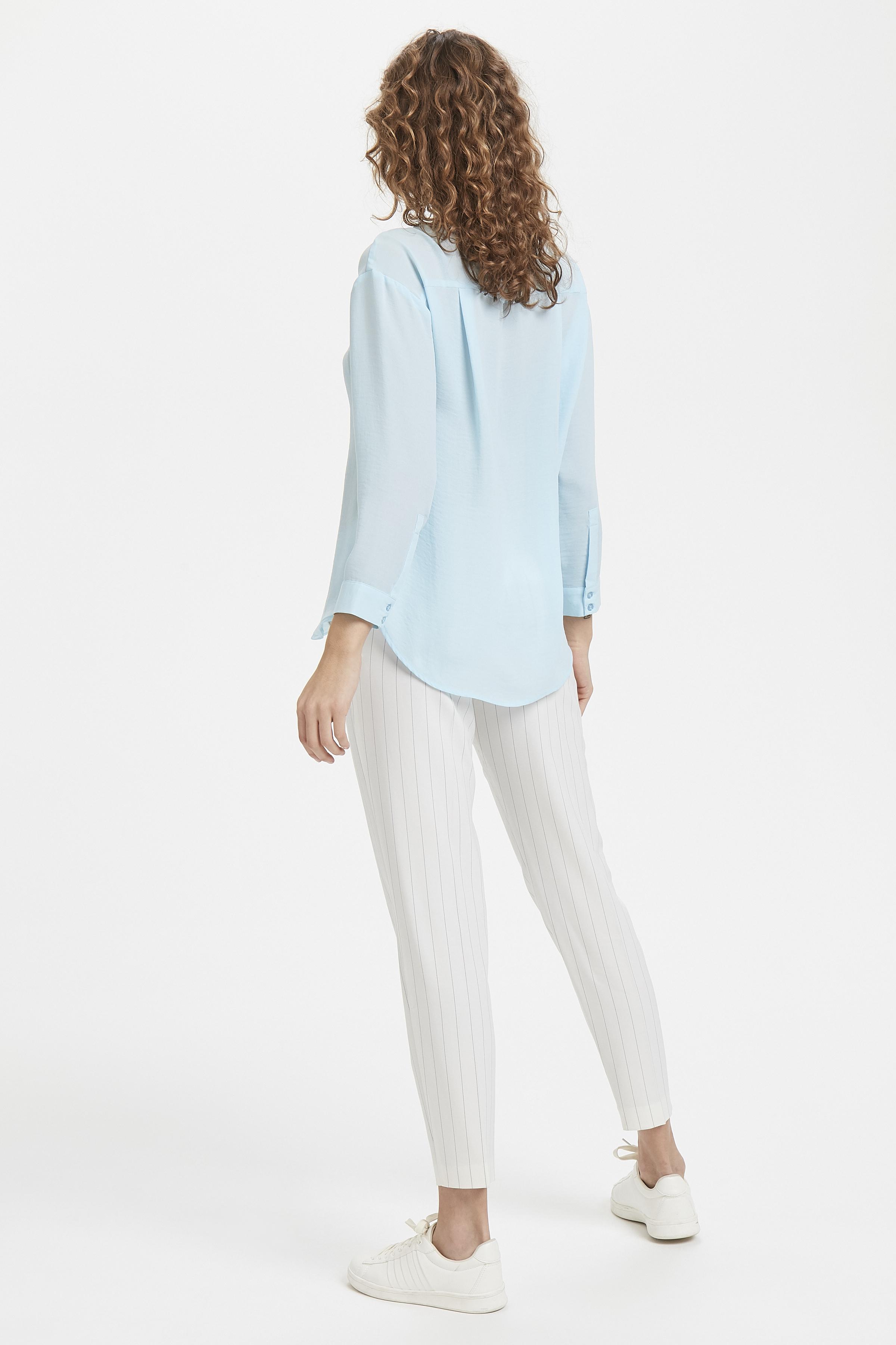 Corydalis Blue Langærmet skjorte – Køb Corydalis Blue Langærmet skjorte fra str. 34-42 her