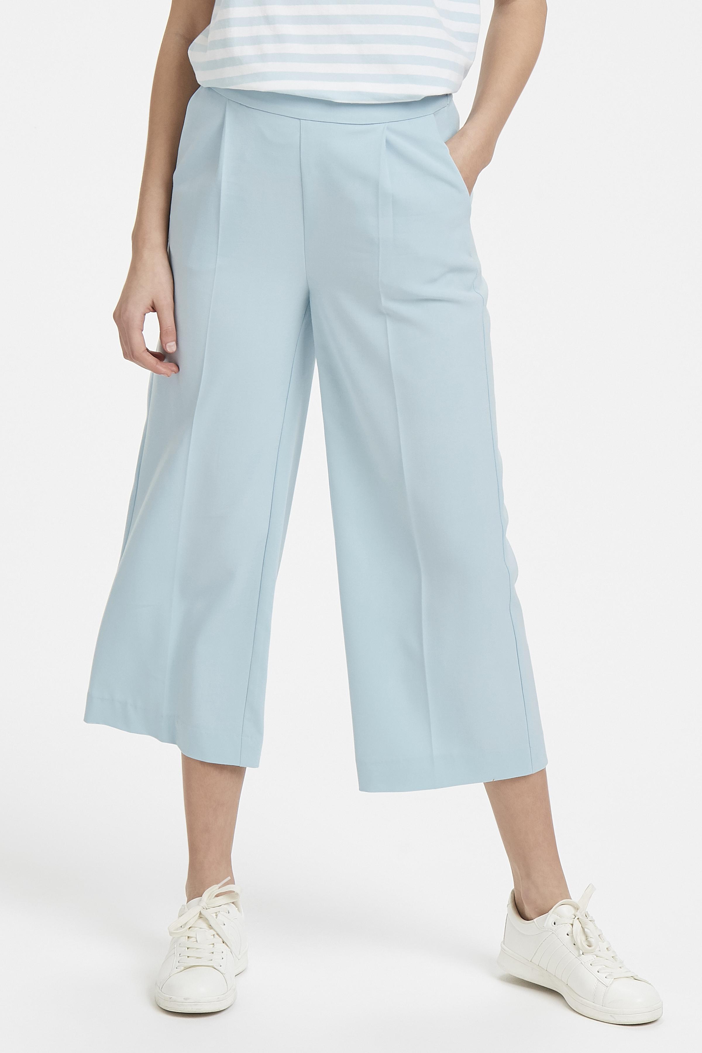 Corydalis Blue Pants Casual fra Ichi – Køb Corydalis Blue Pants Casual fra str. 34-42 her
