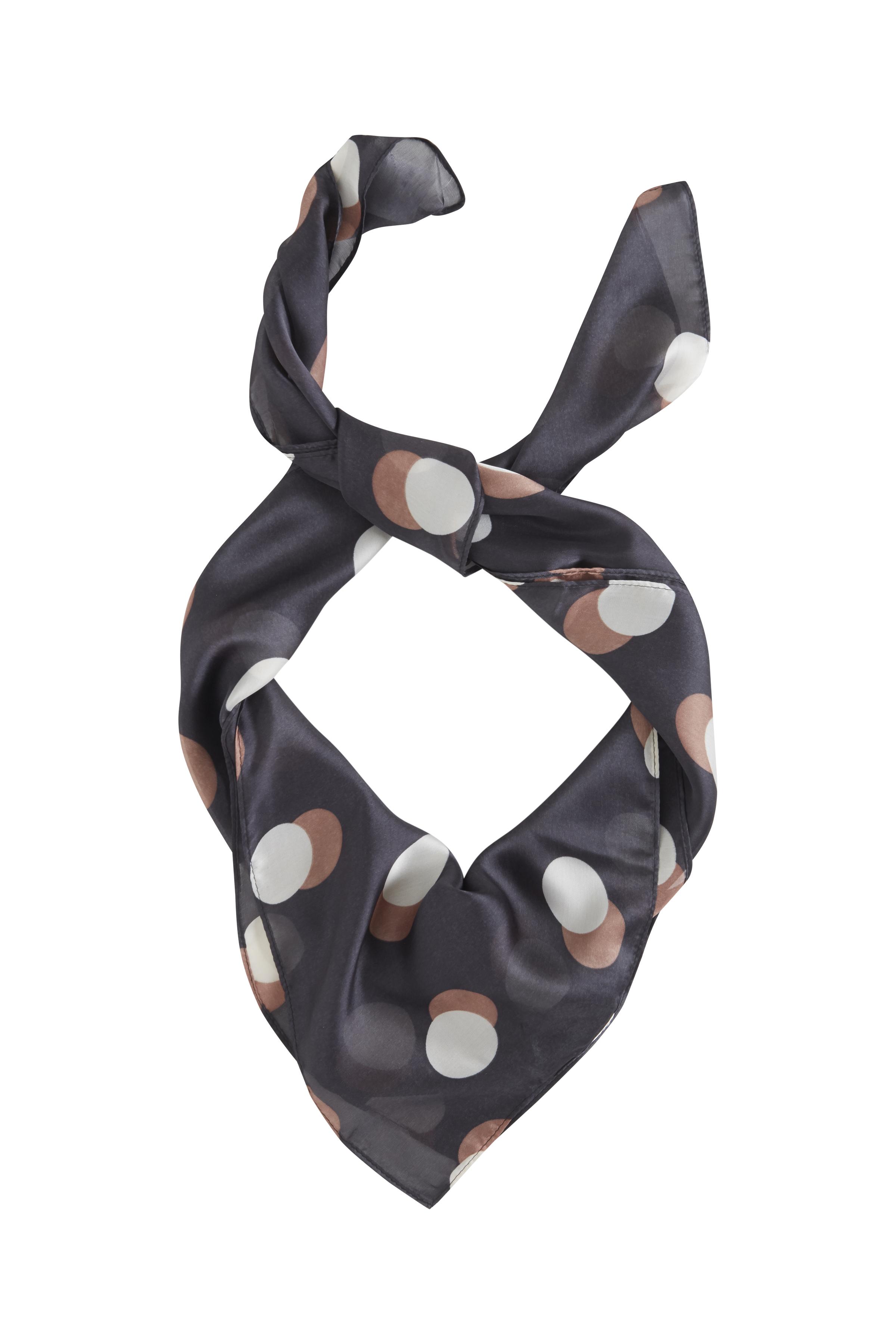 Dark Navy Tørklæde – Køb Dark Navy Tørklæde fra str. ONE her