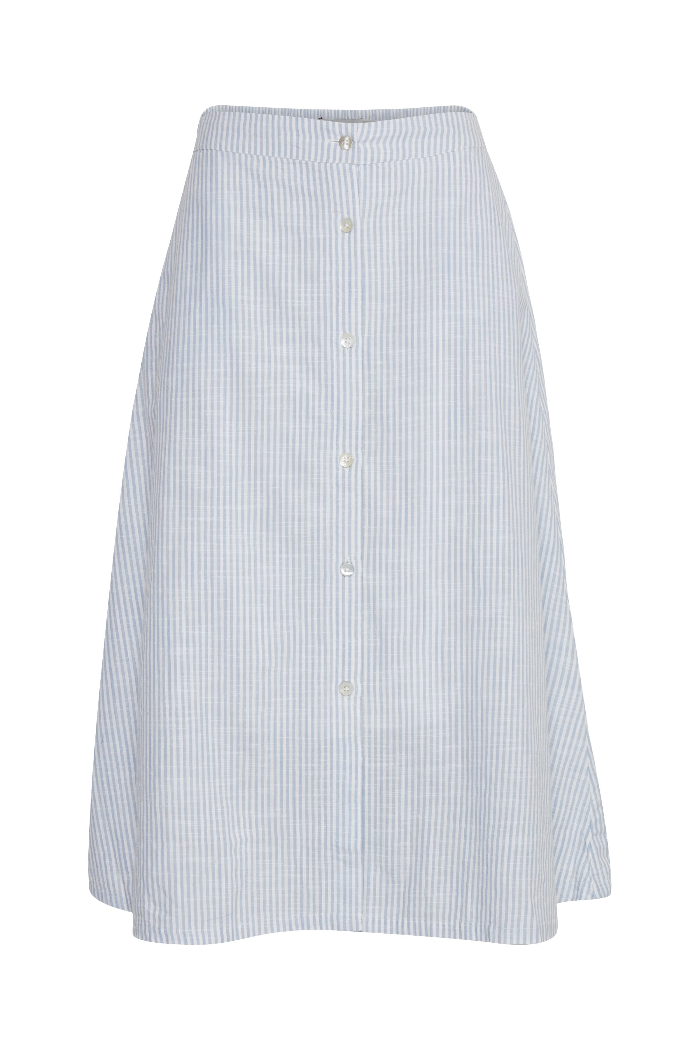 Della Robbia Blue Stripe Nederdel – Køb Della Robbia Blue Stripe Nederdel fra str. 34-42 her