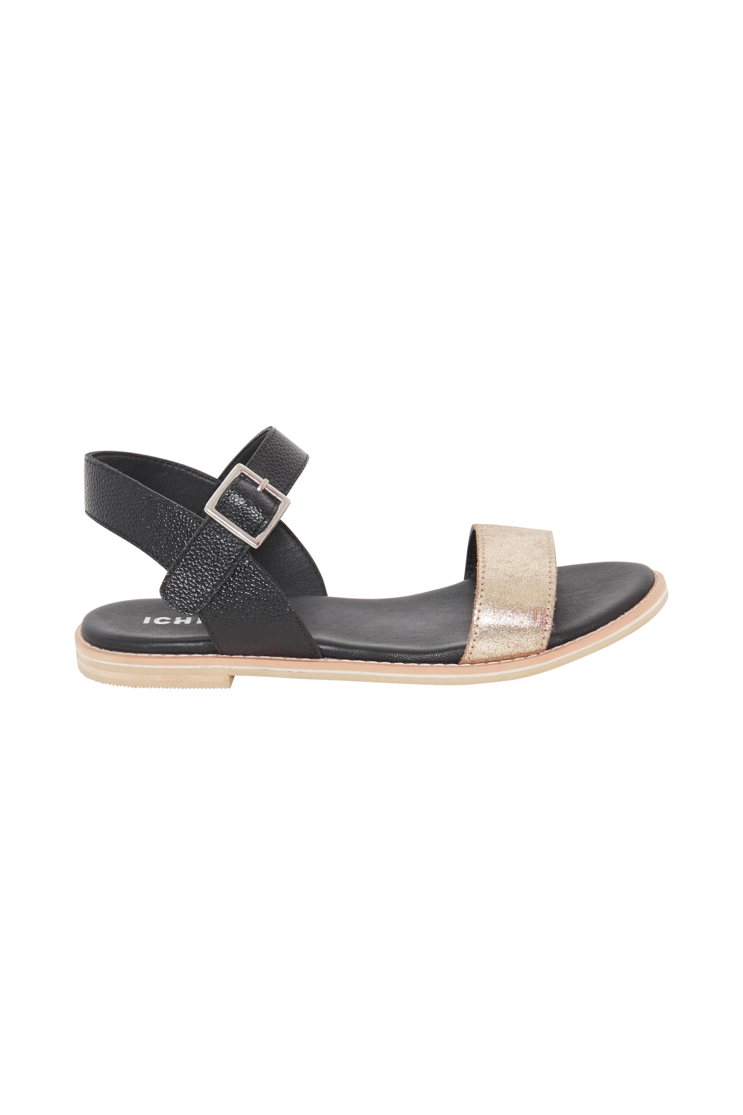 Gold Shoe fra Ichi - accessories – Køb Gold Shoe fra str. 36-41 her