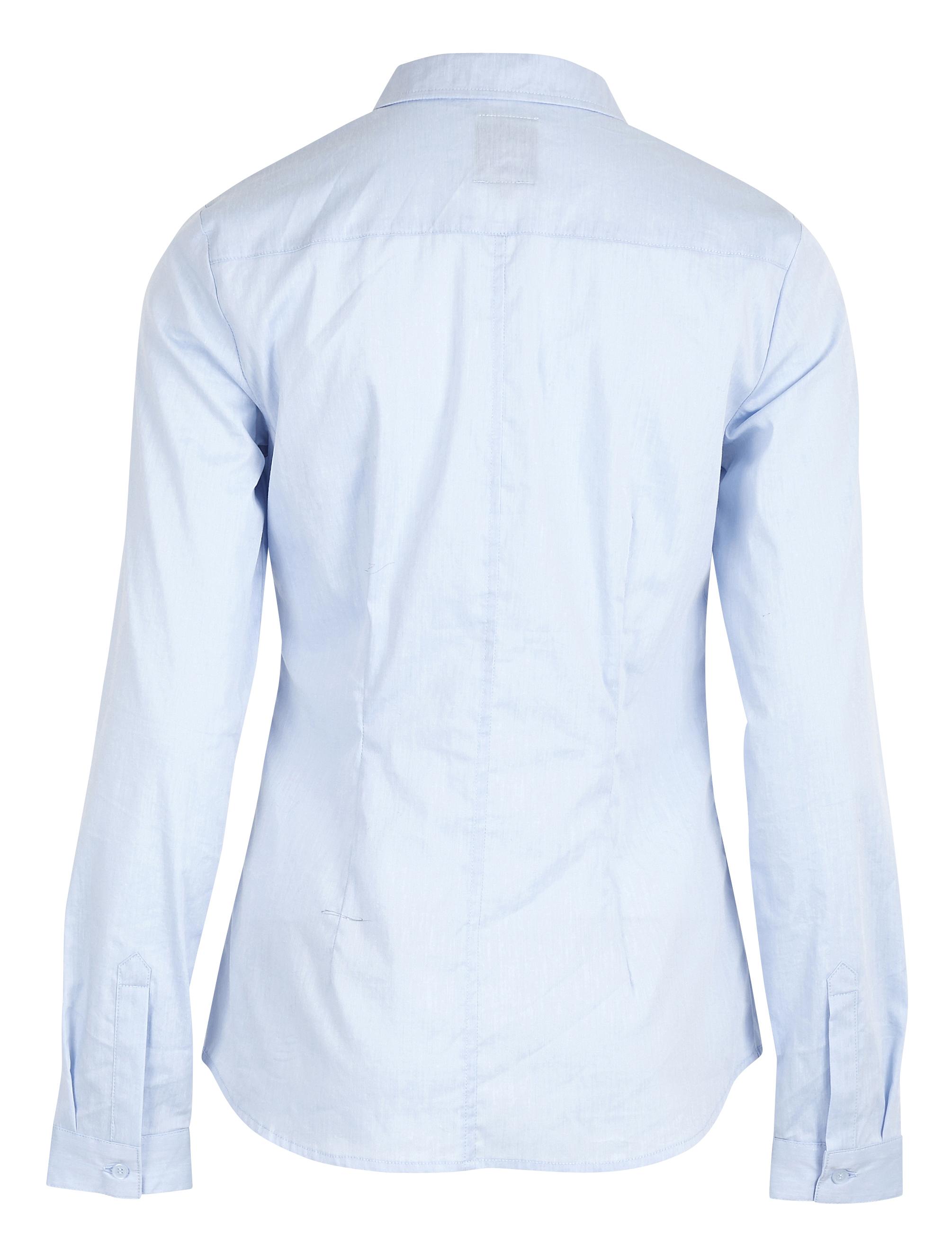 Kentucky Blue Langærmet skjorte – Køb Kentucky Blue Langærmet skjorte fra str. 34-44 her