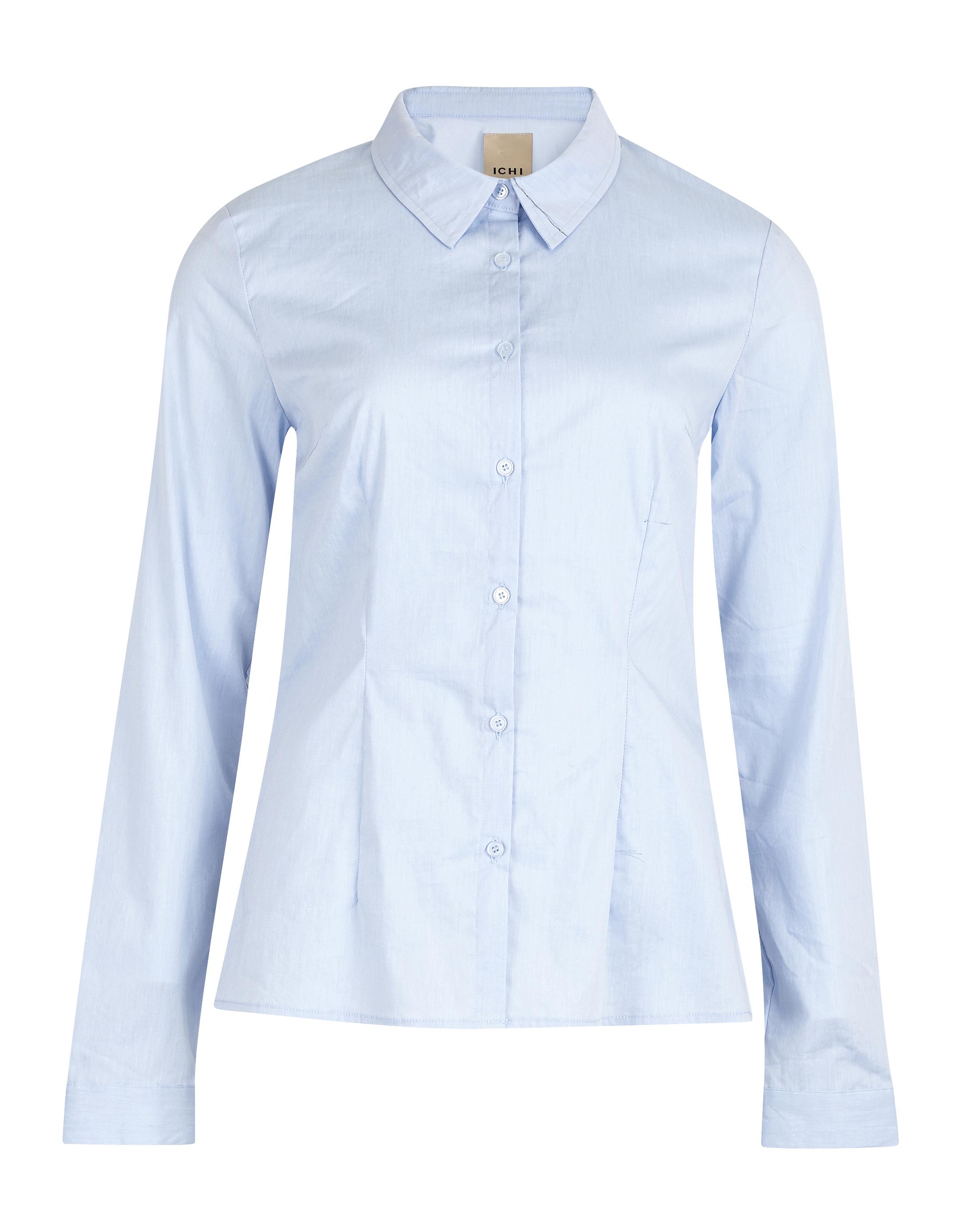 Kentucky Blue Long sleeved shirt fra Ichi – Køb Kentucky Blue Long sleeved shirt fra str. 34-44 her