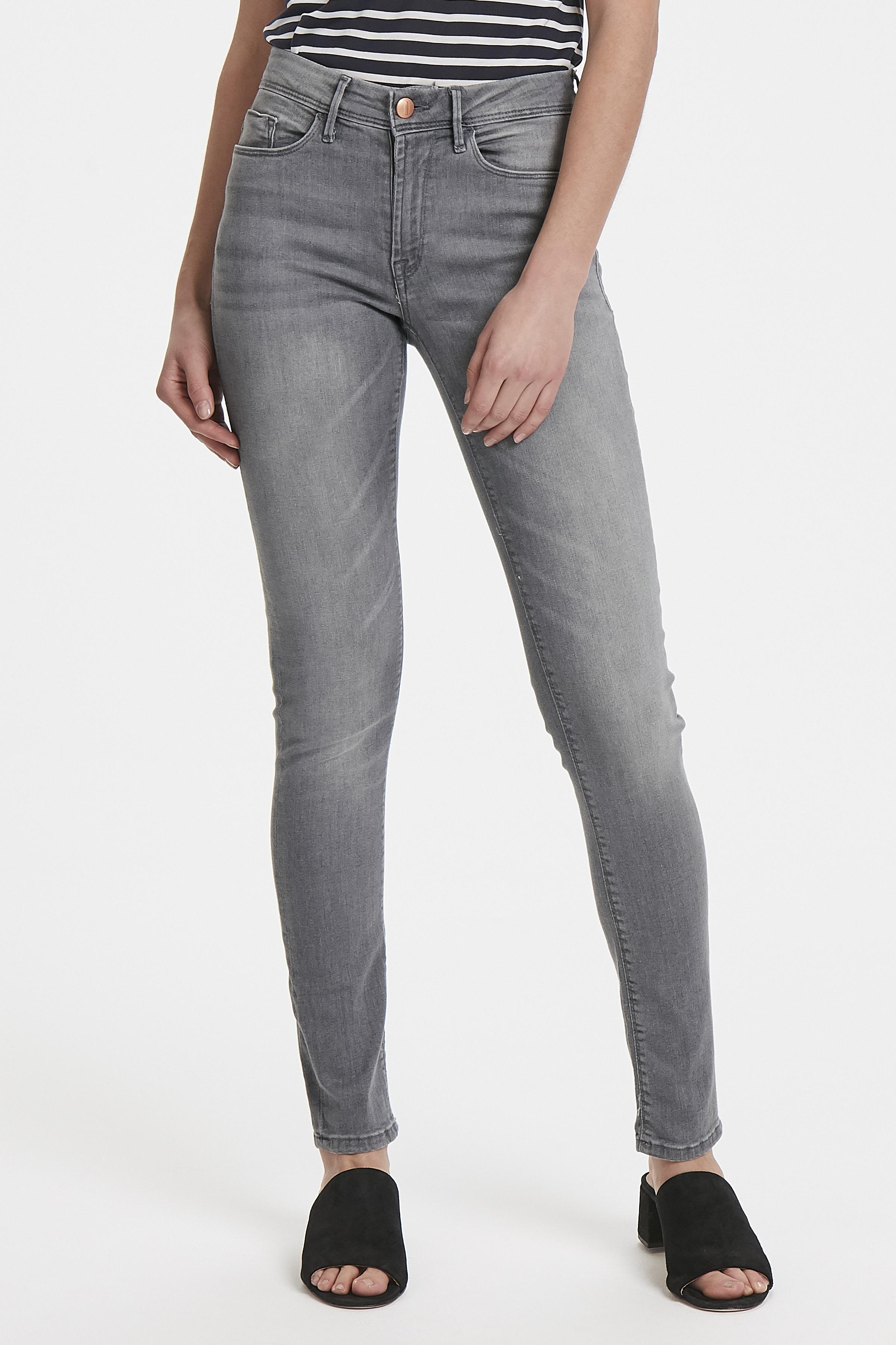 Light grey washed Jeans – Køb Light grey washed Jeans fra str. 25-34 her
