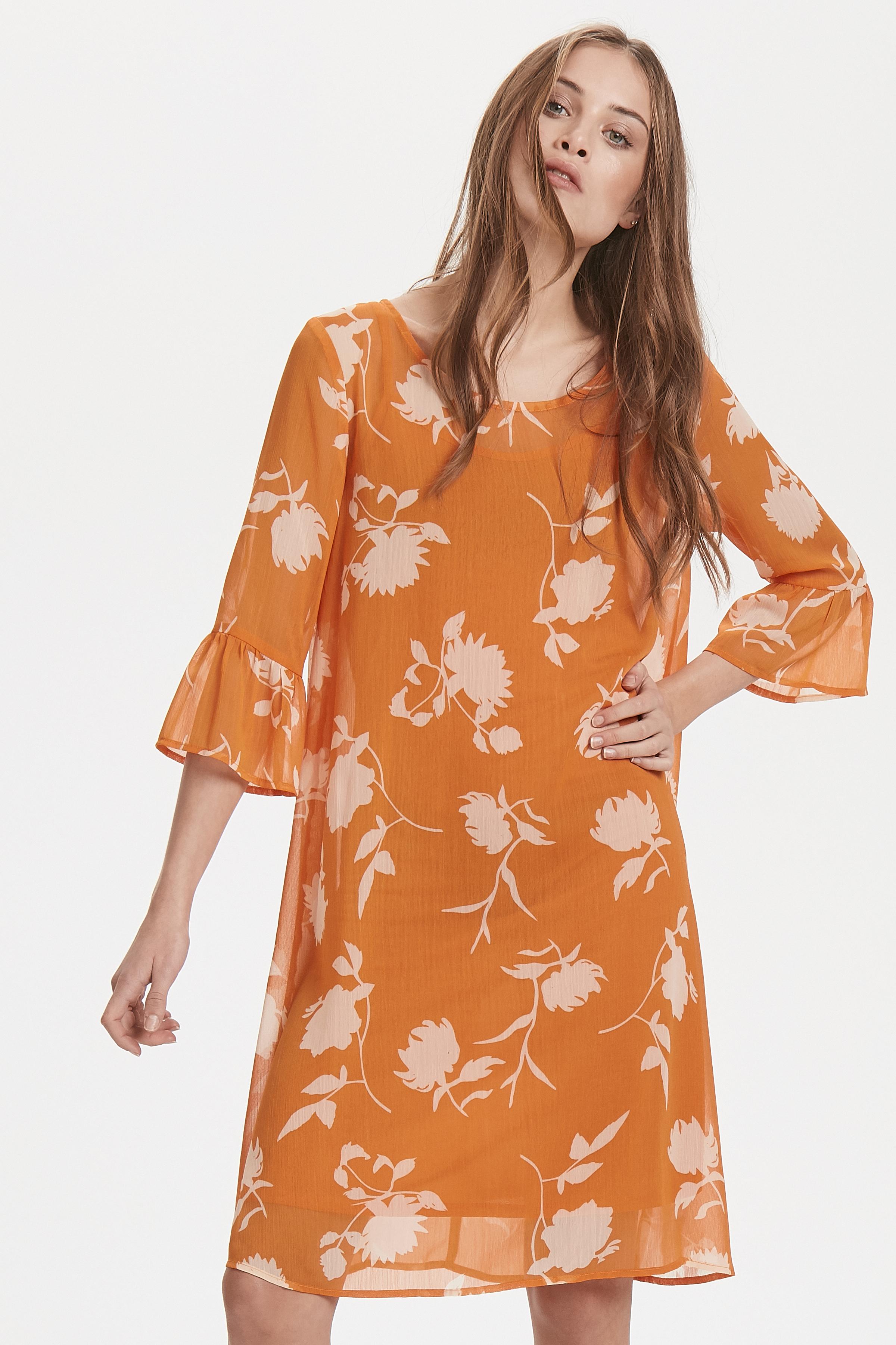 Russet Orange Kjole – Køb Russet Orange Kjole fra str. XS-XL her