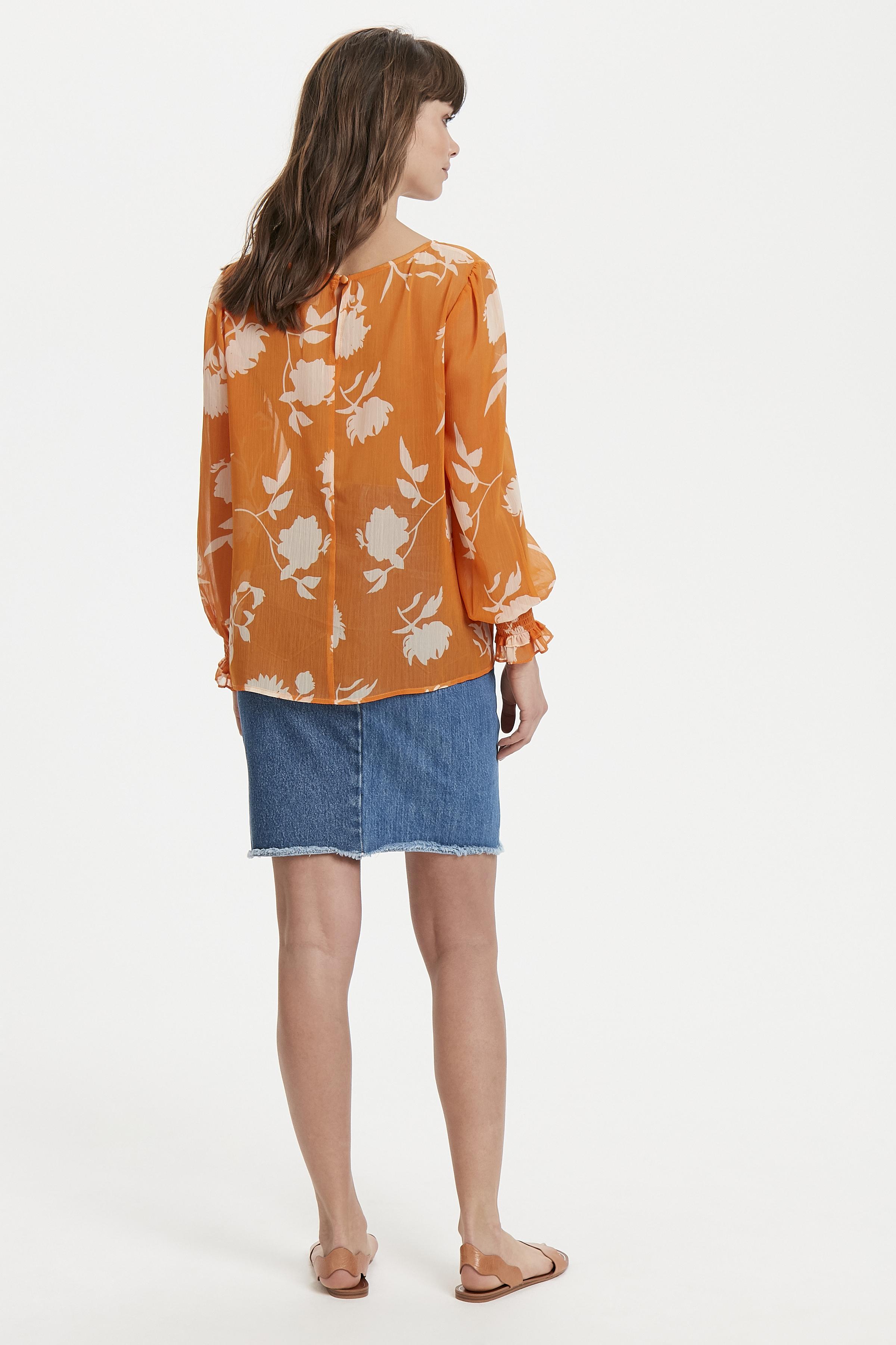 Russet Orange Langærmet skjorte – Køb Russet Orange Langærmet skjorte fra str. XS-XL her