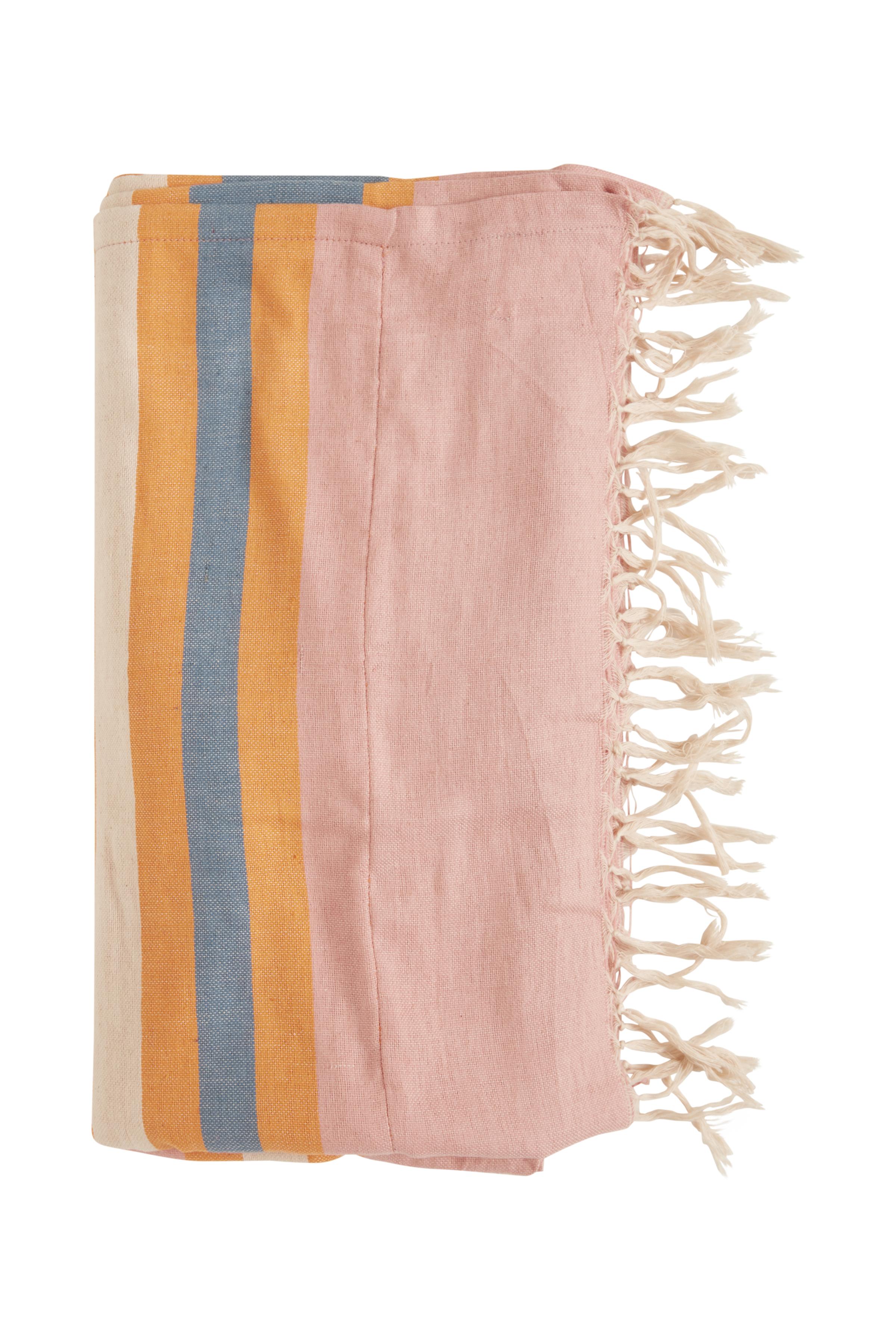Russet Orange Strandhåndklæde  – Køb Russet Orange Strandhåndklæde  fra str. ONE her