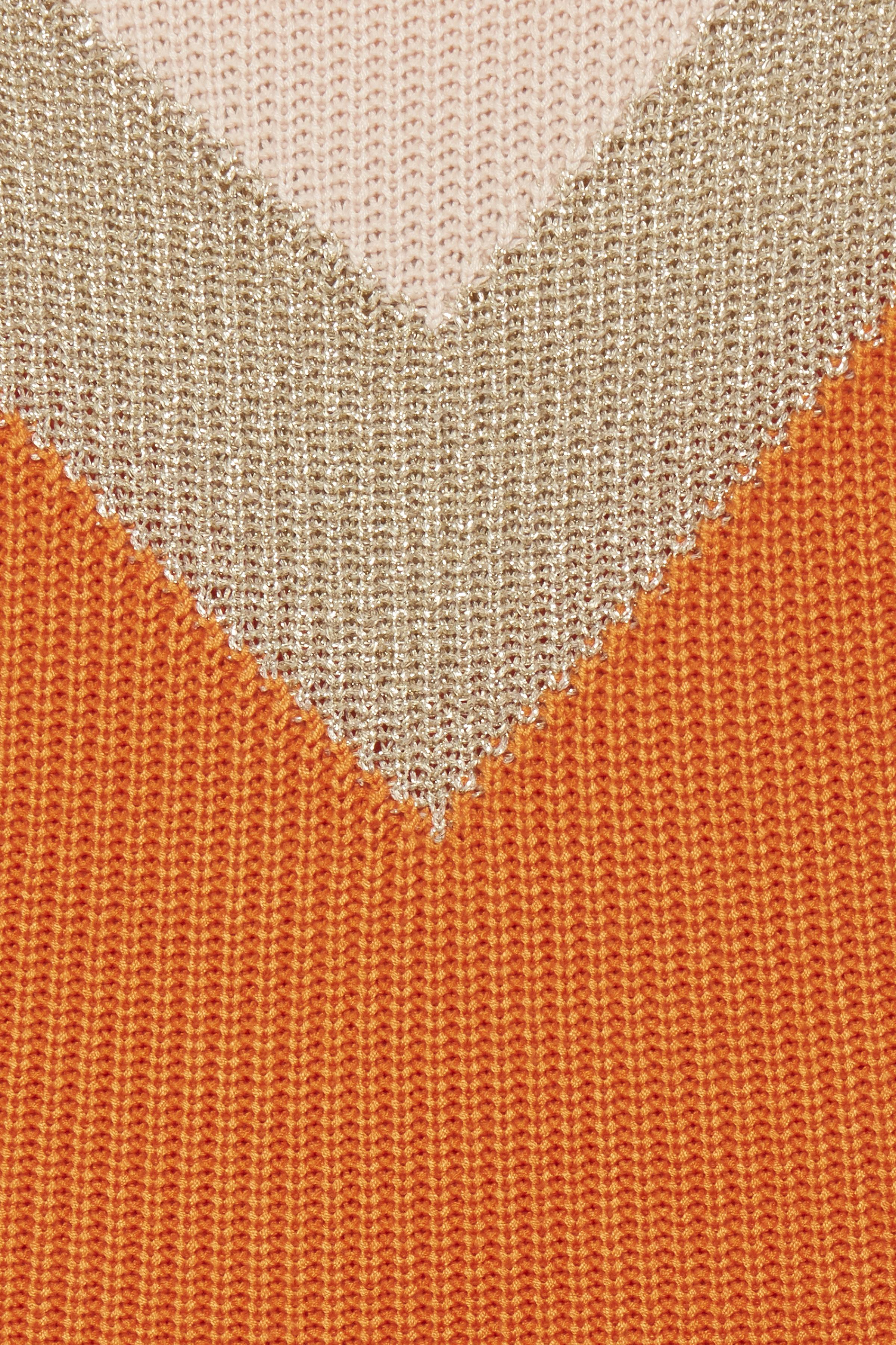 Russet Orange Strikpullover – Køb Russet Orange Strikpullover fra str. XS-XL her