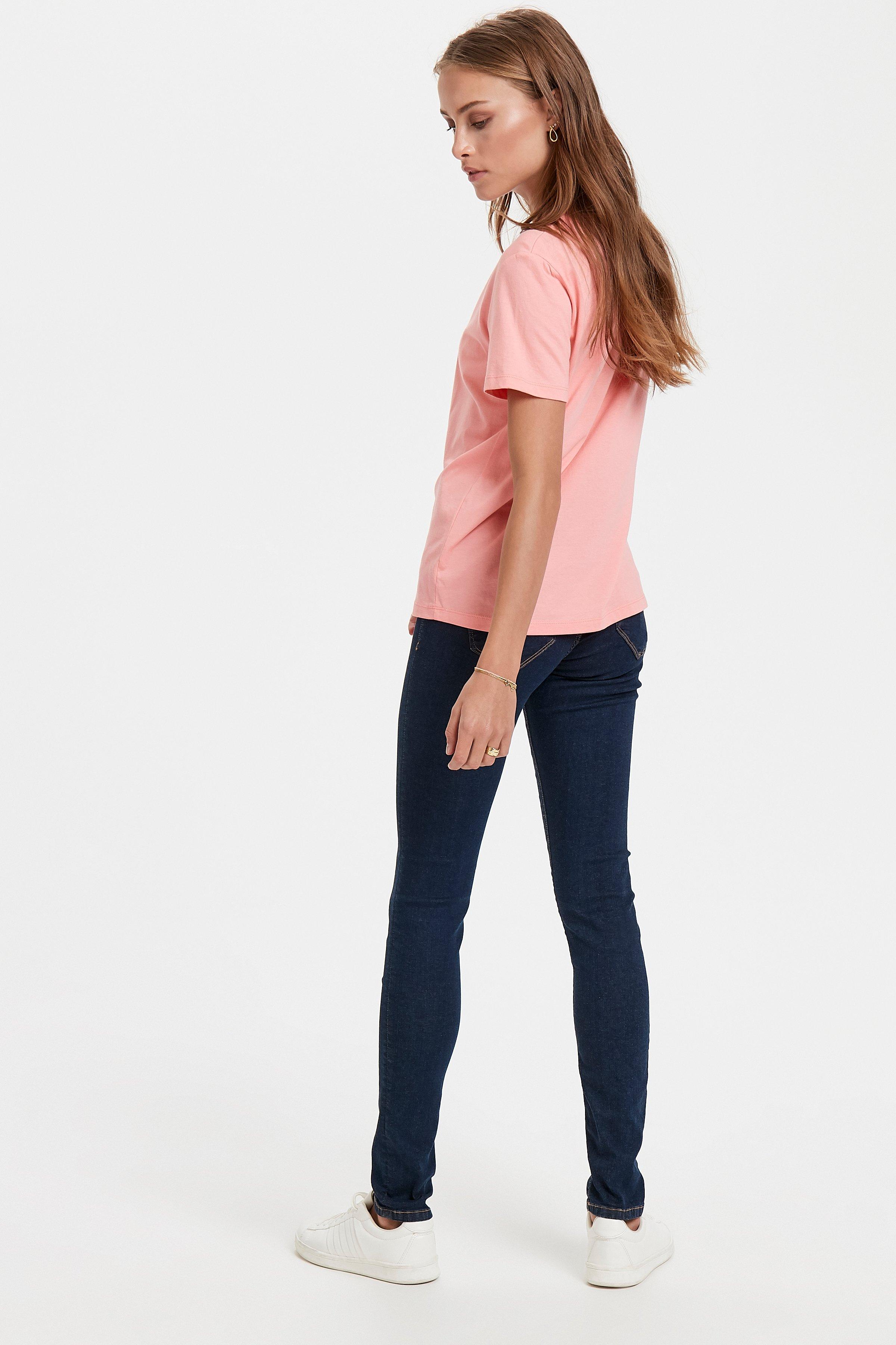 Salmon Rose T-shirt – Køb Salmon Rose T-shirt fra str. XS-XL her