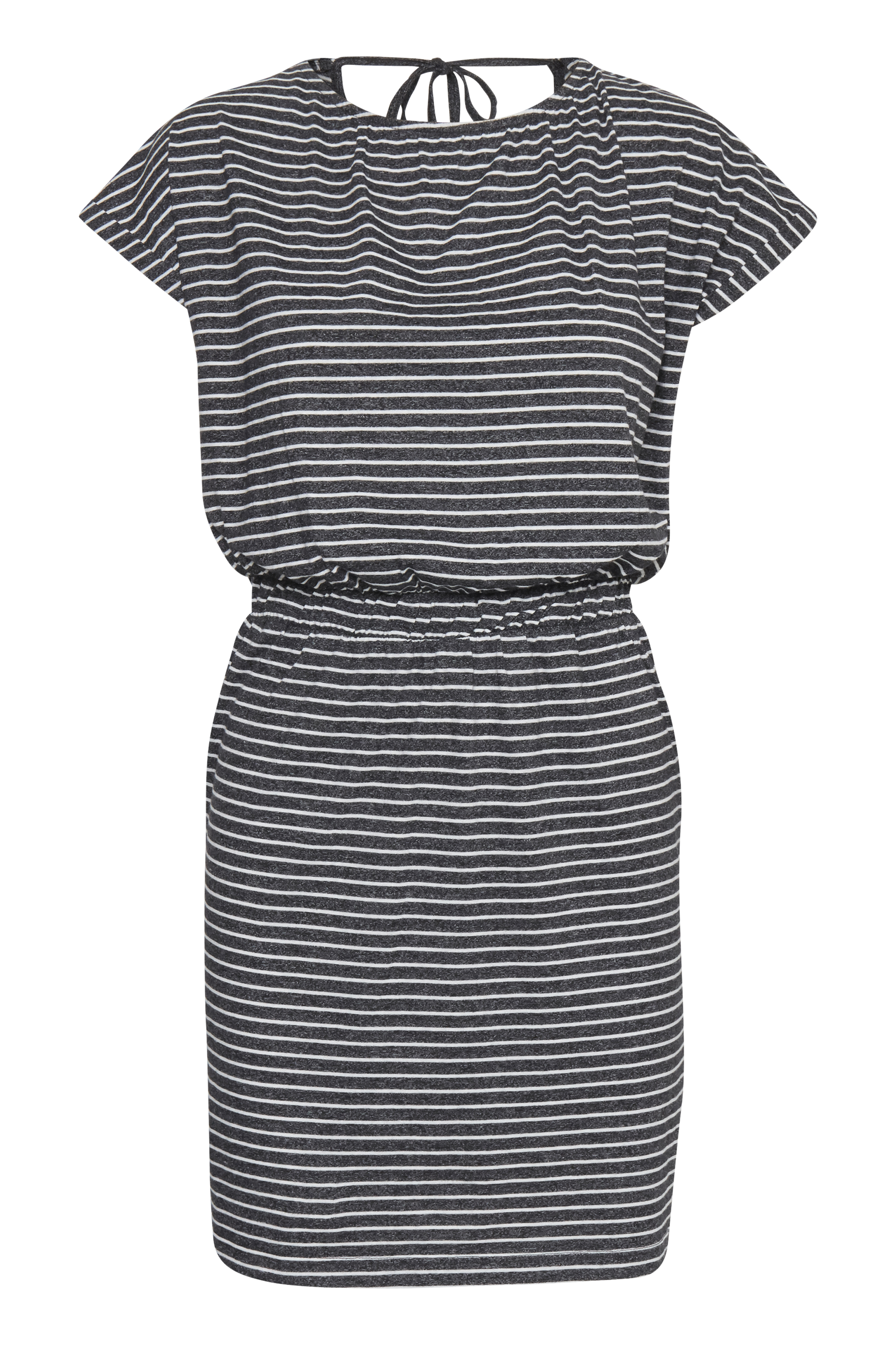 Small Stripe Black Jerseykjole – Køb Small Stripe Black Jerseykjole fra str. S-XL her