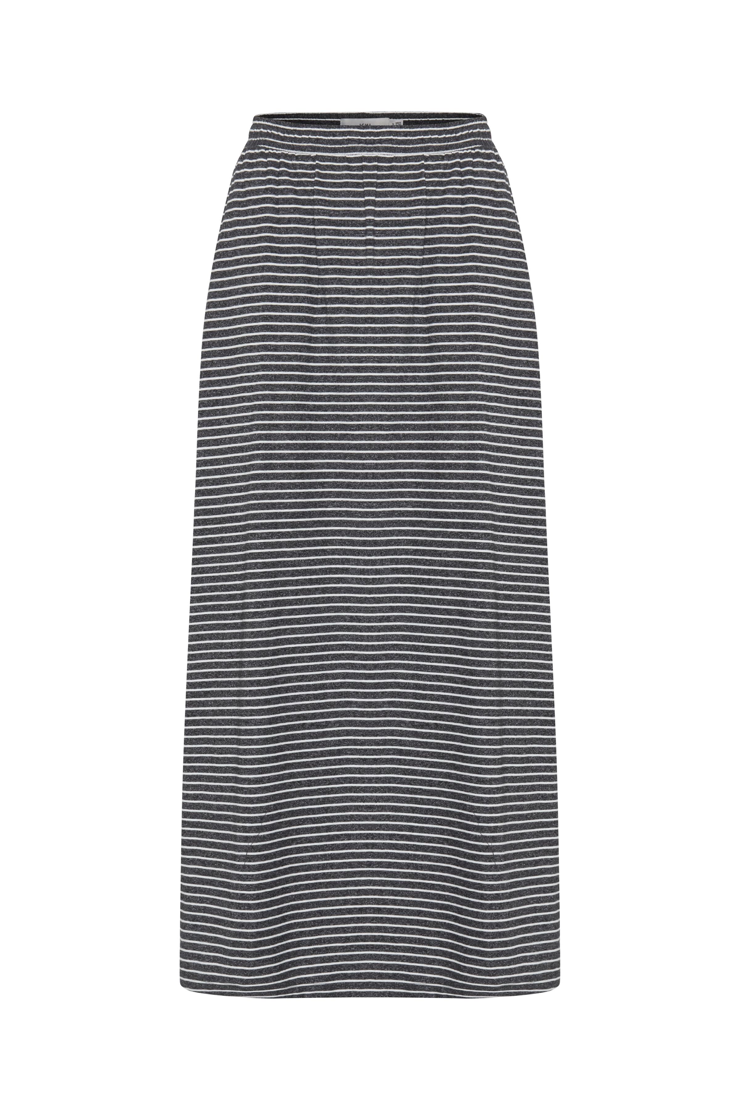 Small Stripe Black Nederdel – Køb Small Stripe Black Nederdel fra str. XS-L her