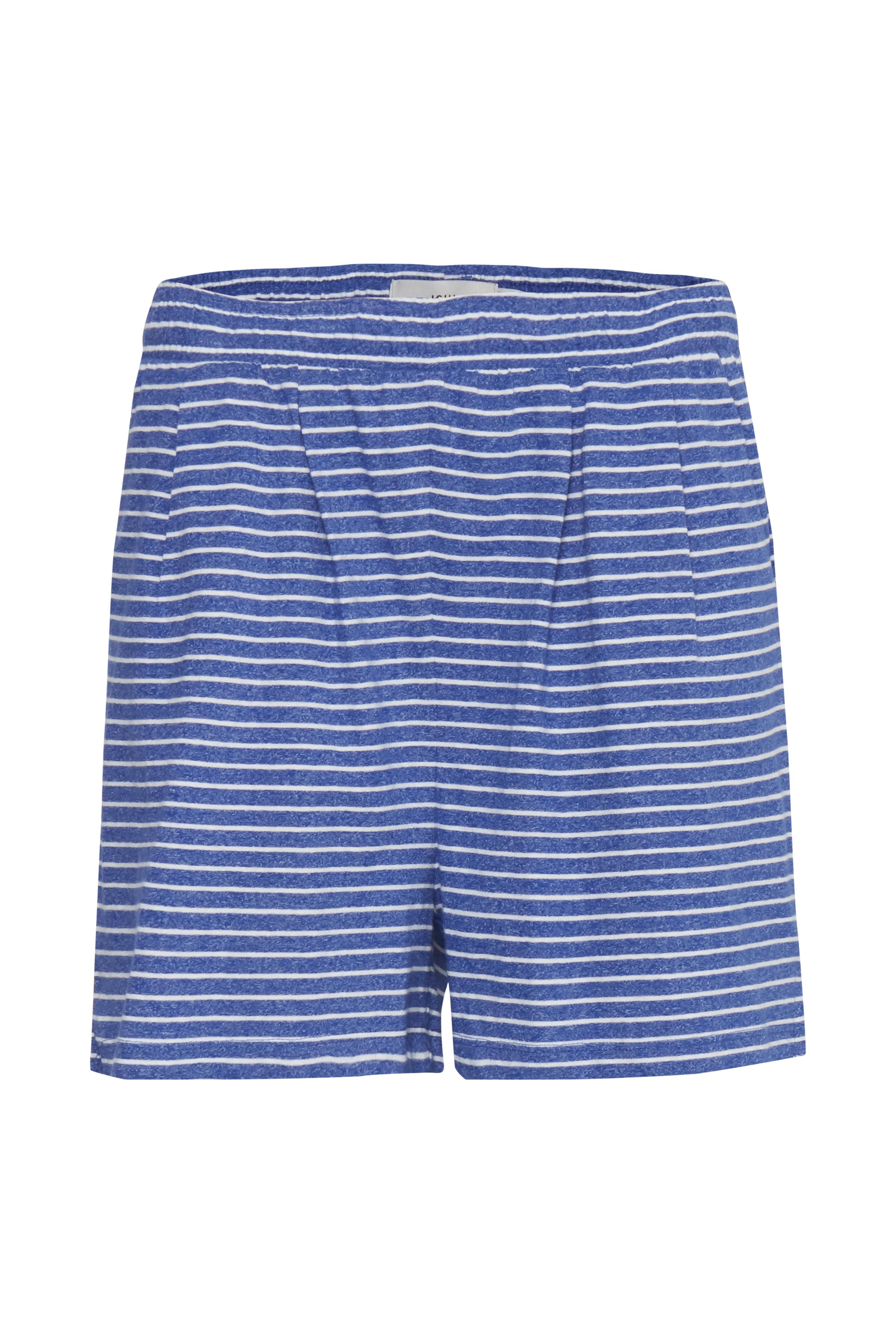 Small Stripe Mazarine Blue Shorts – Køb Small Stripe Mazarine Blue Shorts fra str. XS-XL her