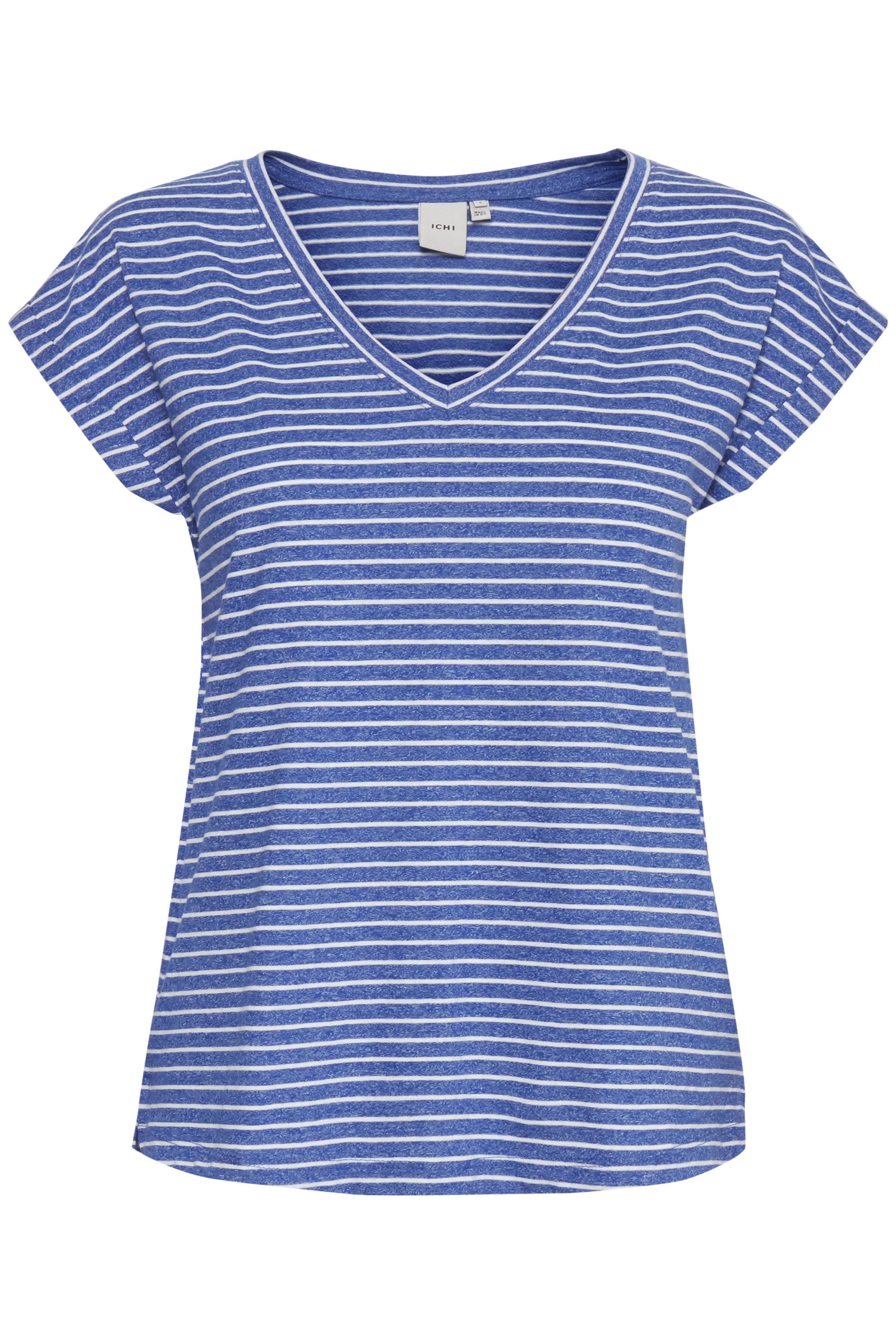 Small Stripe Mazarine Blue T-shirt – Køb Small Stripe Mazarine Blue T-shirt fra str. S-XL her