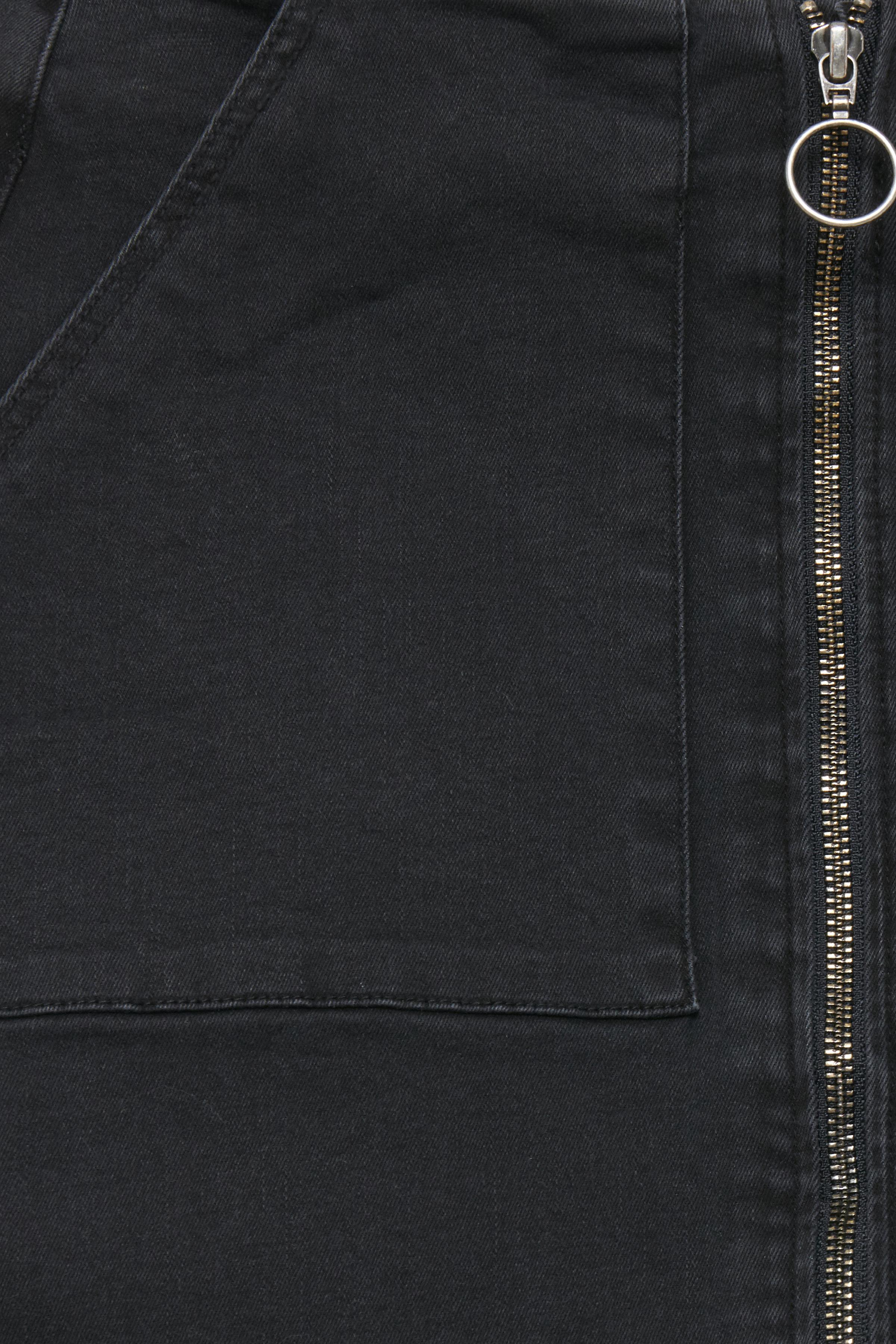 Washed Black Denimnederdel – Køb Washed Black Denimnederdel fra str. 34-40 her