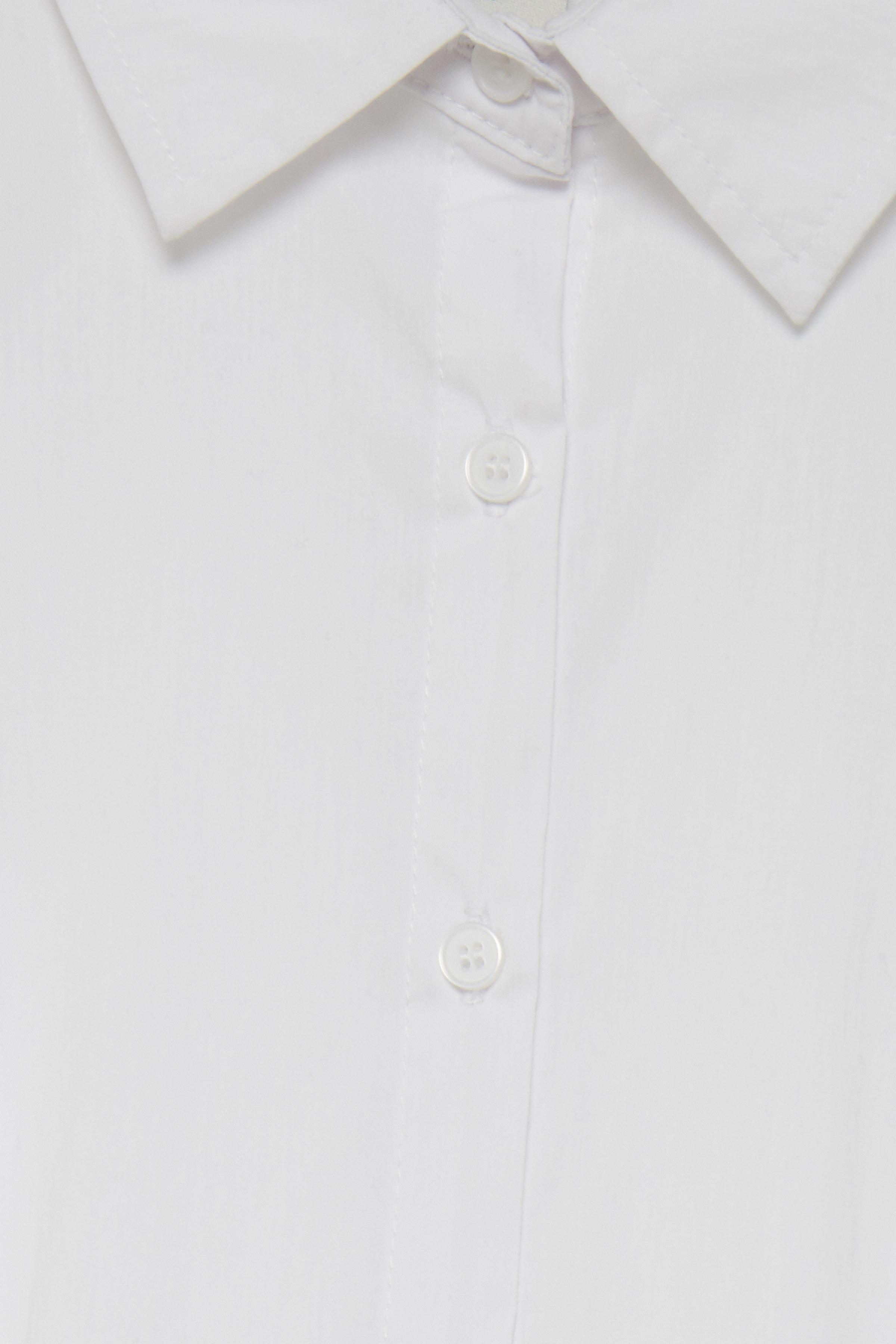 White Langærmet skjorte – Køb White Langærmet skjorte fra str. 34-44 her