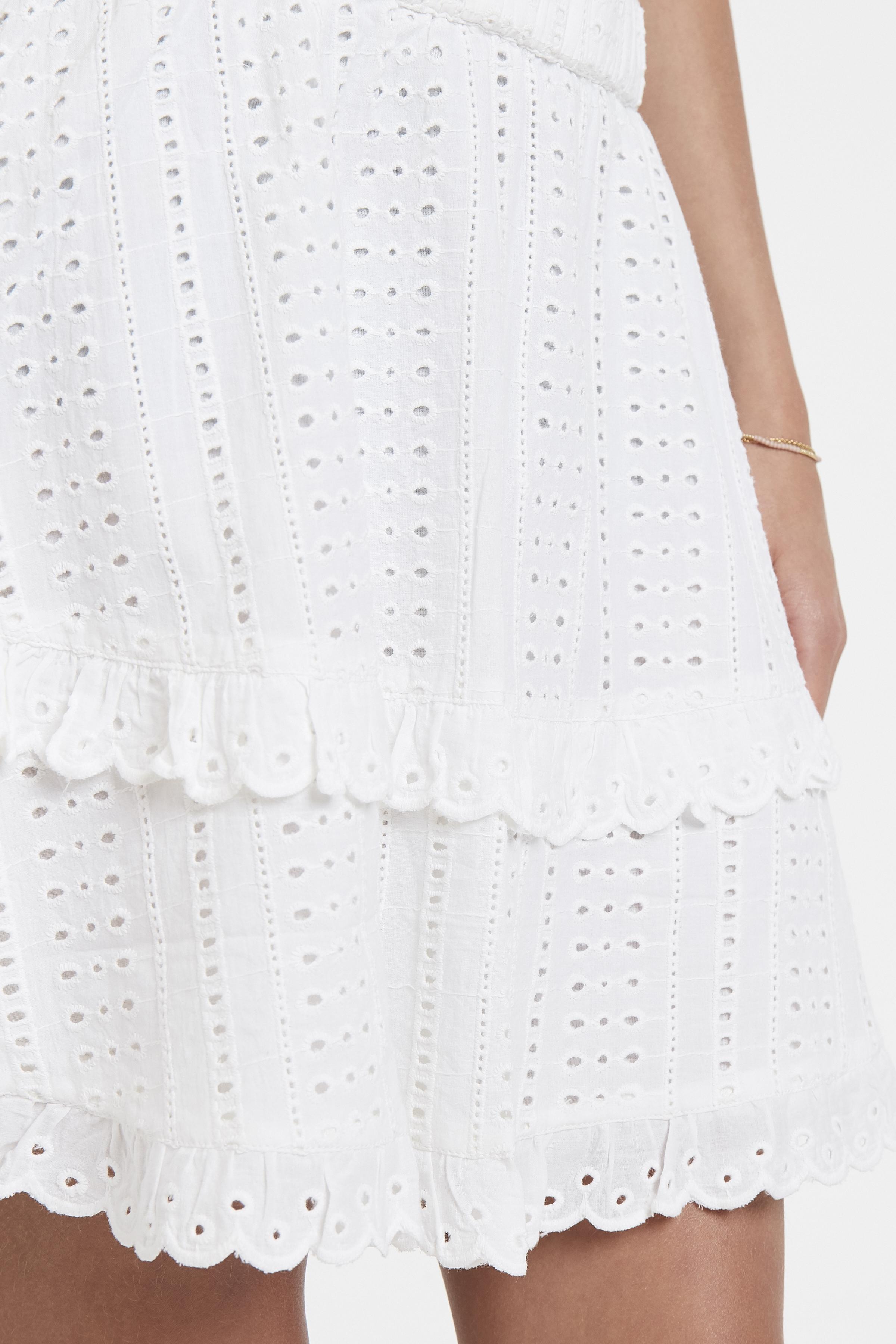 White Nederdel – Køb White Nederdel fra str. 34-42 her