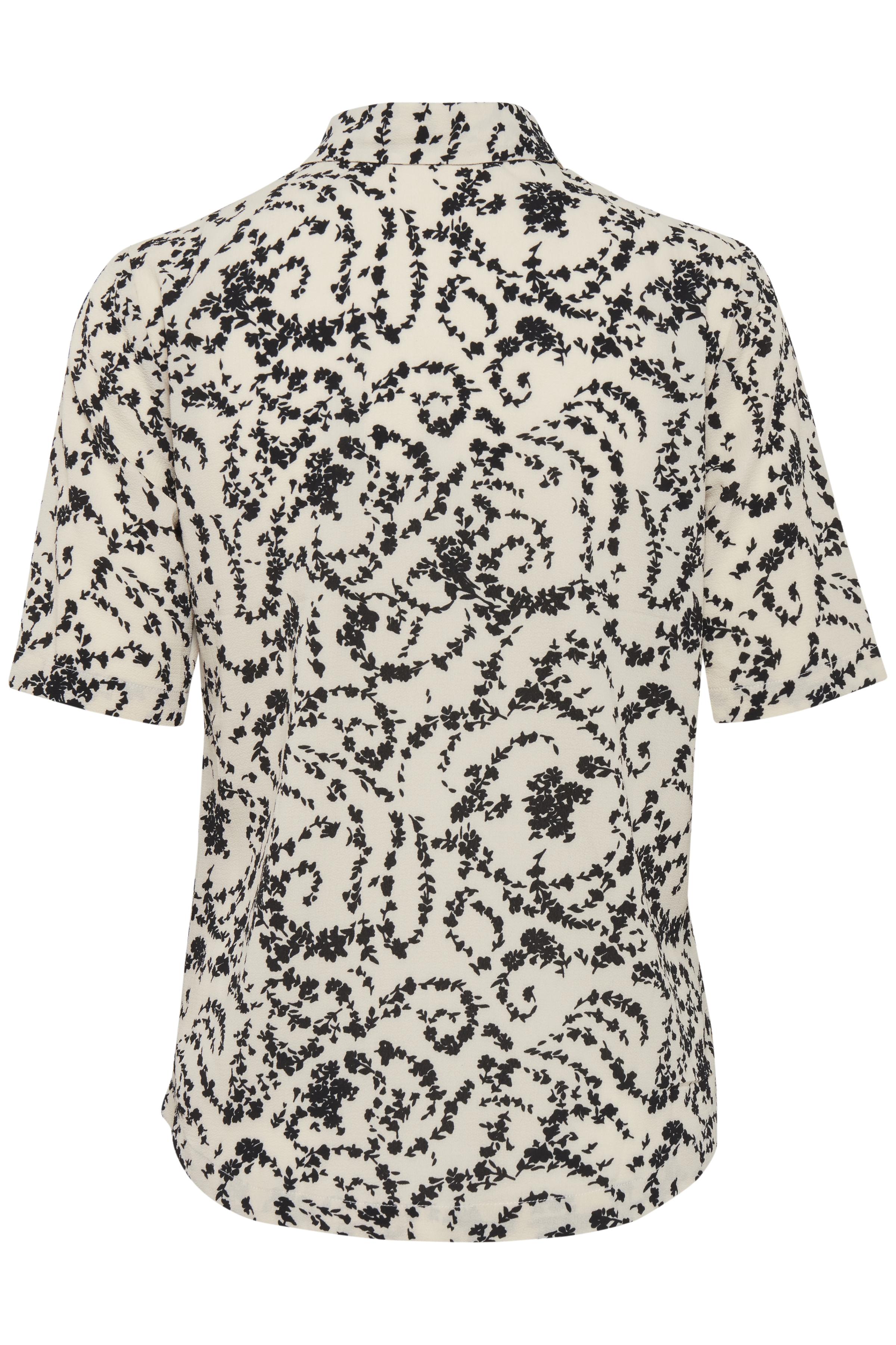 White Swan Shirt fra Ichi – Køb White Swan Shirt fra str. 34-42 her