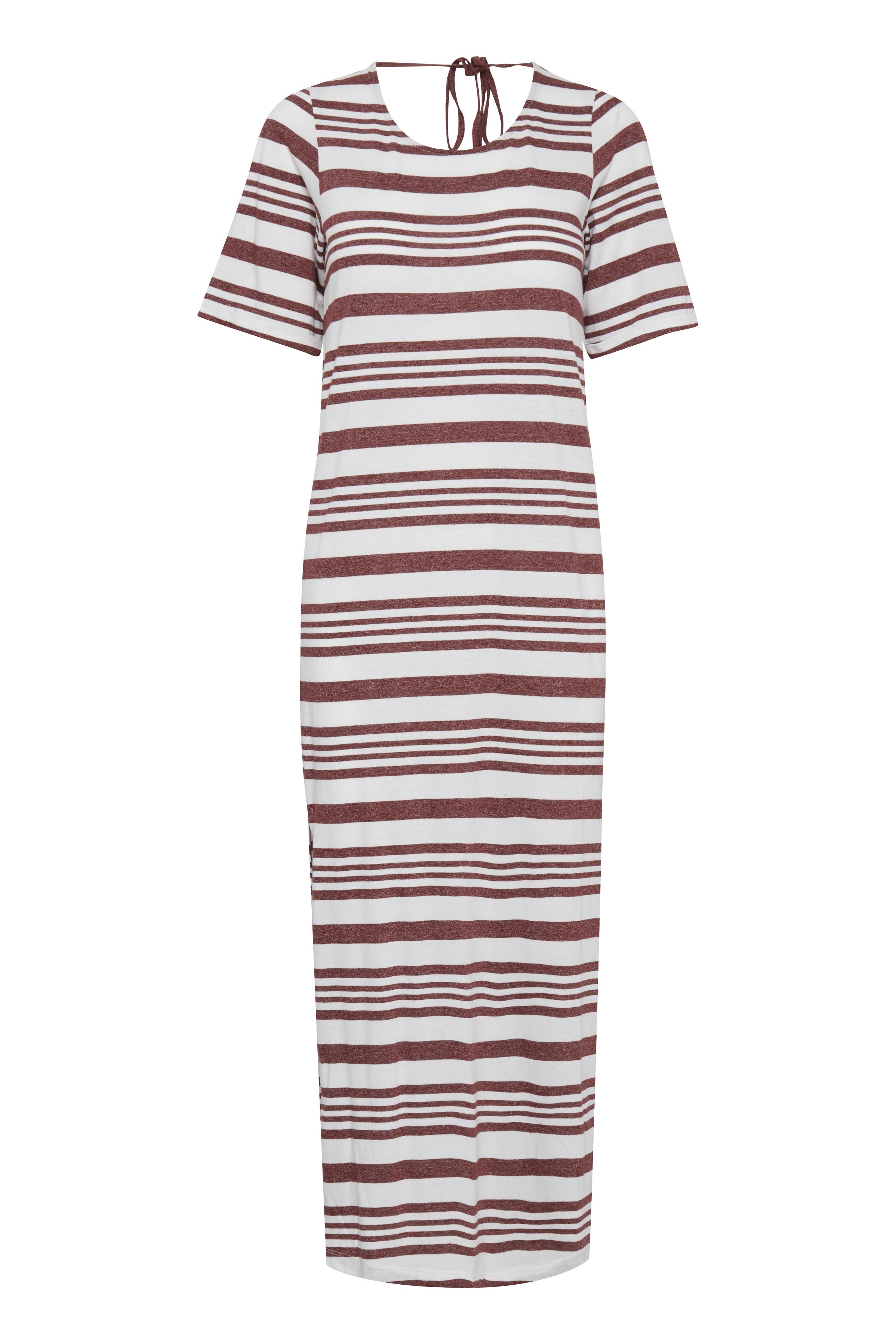 Wide Stripe Andorra Jerseykjole – Køb Wide Stripe Andorra Jerseykjole fra str. XS-XL her