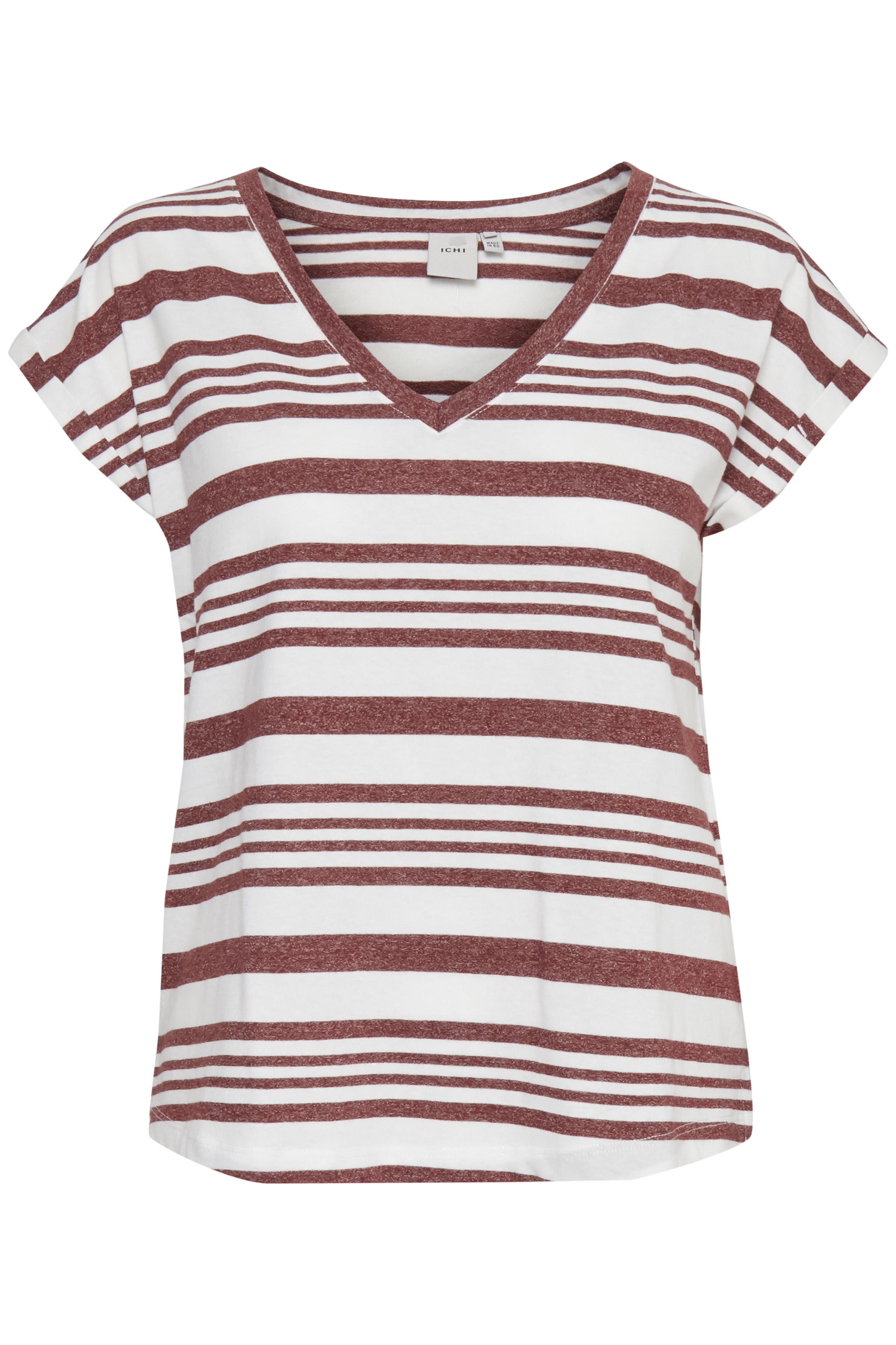 Wide Stripe Andorra T-shirt – Køb Wide Stripe Andorra T-shirt fra str. S-XL her