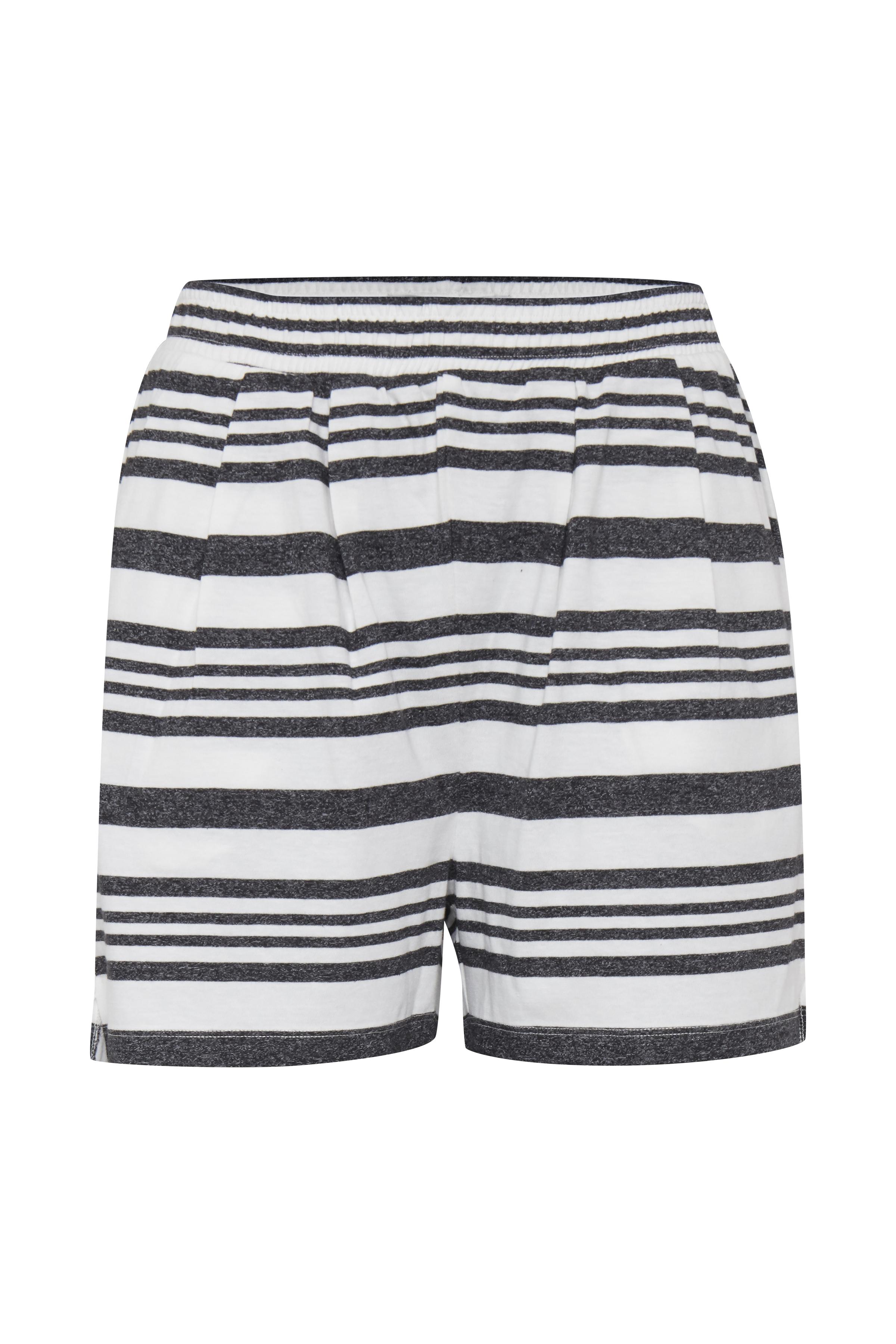Wide Stripe Black Shorts – Køb Wide Stripe Black Shorts fra str. XS-XL her